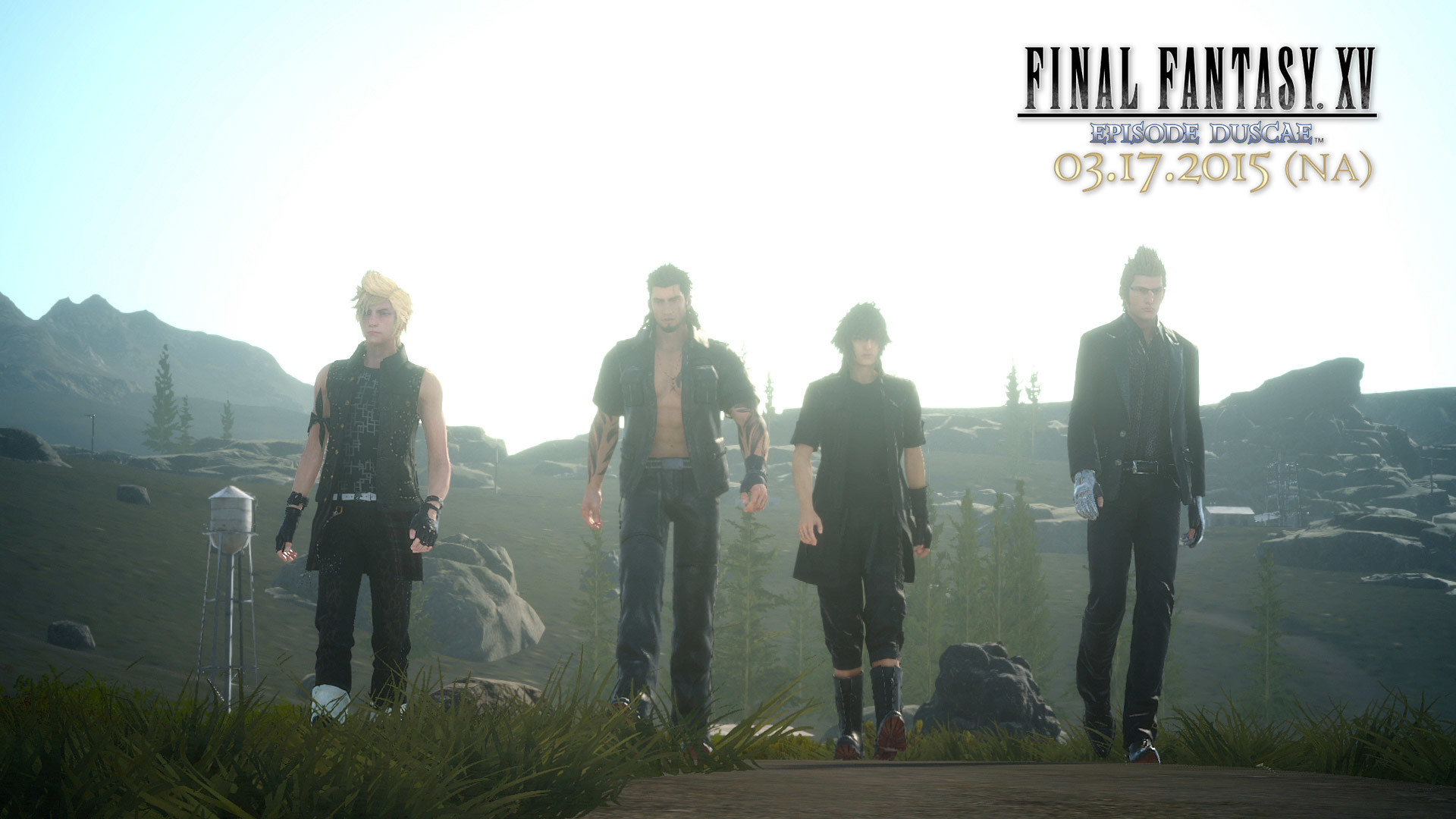 1920x1080 All Heroes On Final Fantasy XV Game Wallpaper