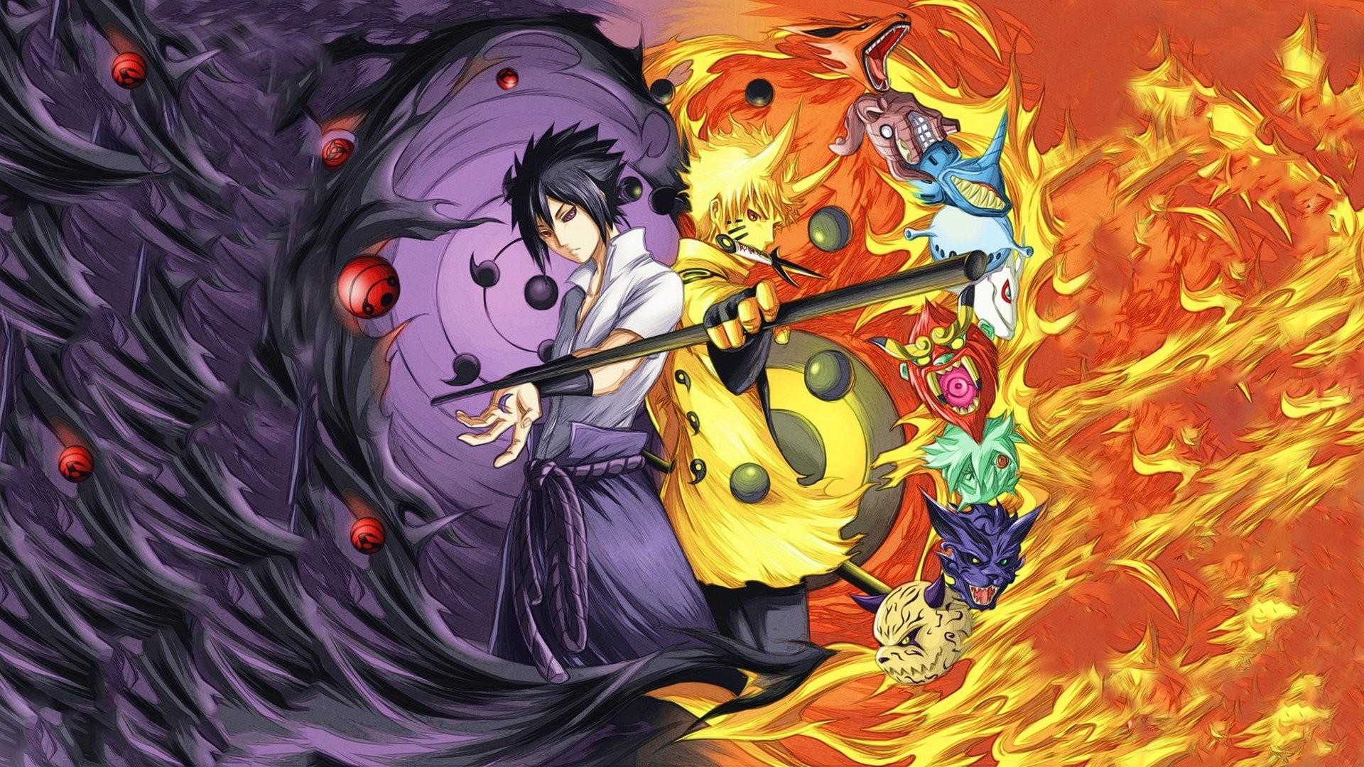 Naruto vs sasuke wallpaper 57 images - Image naruto sasuke ...