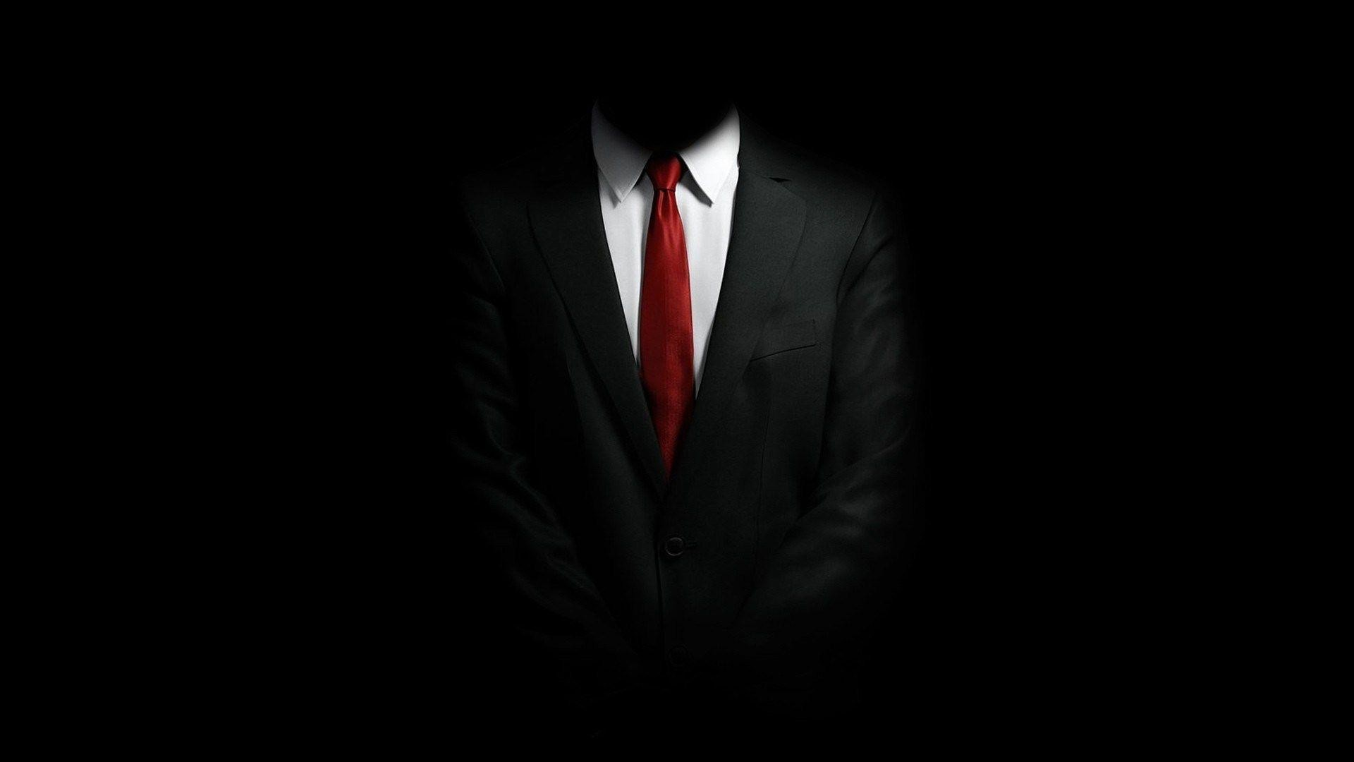 1920x1080 Black Suit White Shirt Red Tie Style HD Wallpaper - ZoomWalls