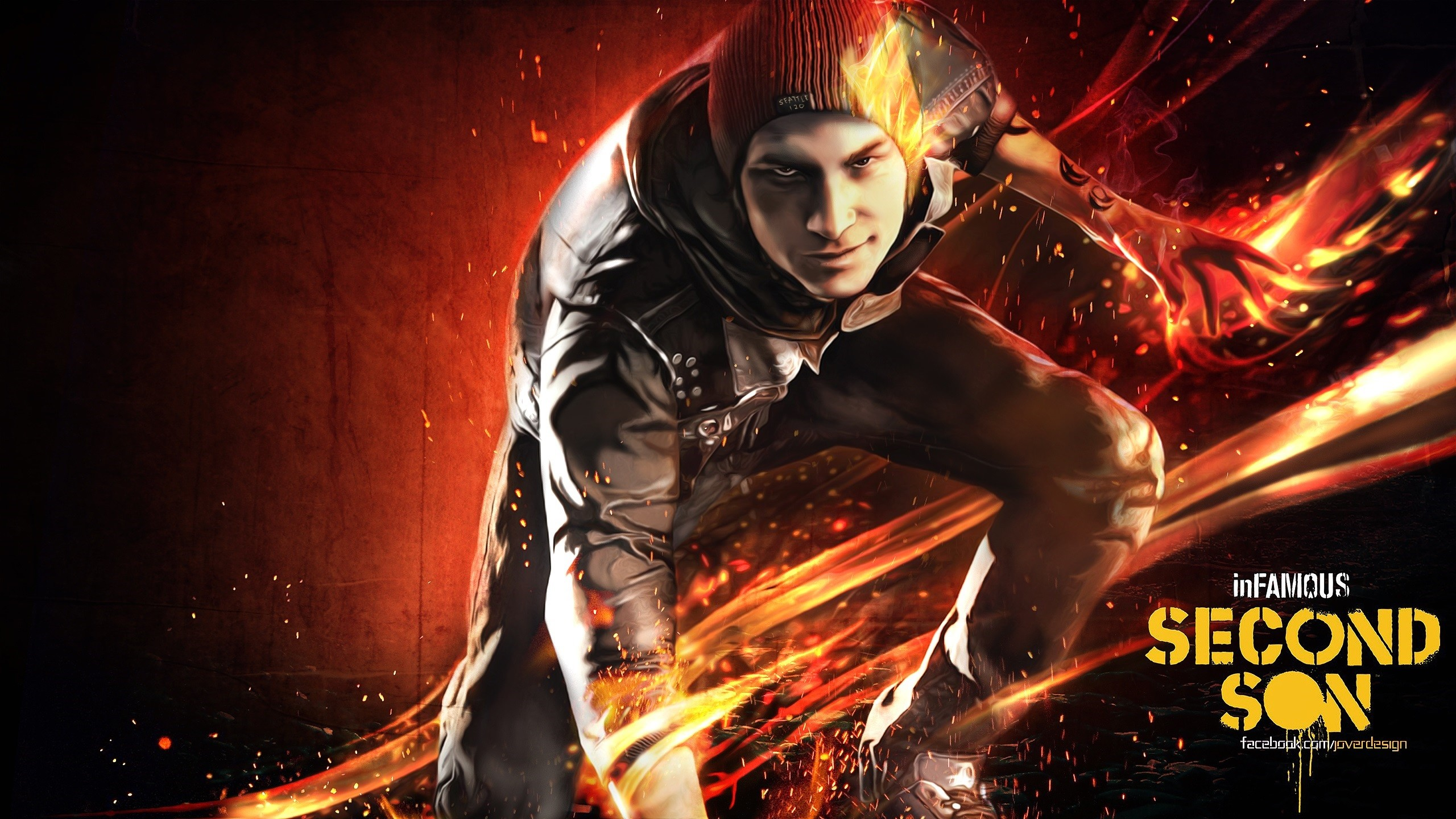 2560x1440 Infamous Second Son: All Bad Karma Ranks YouTube 2560×1440 Infamous Second  Son Wallpaper