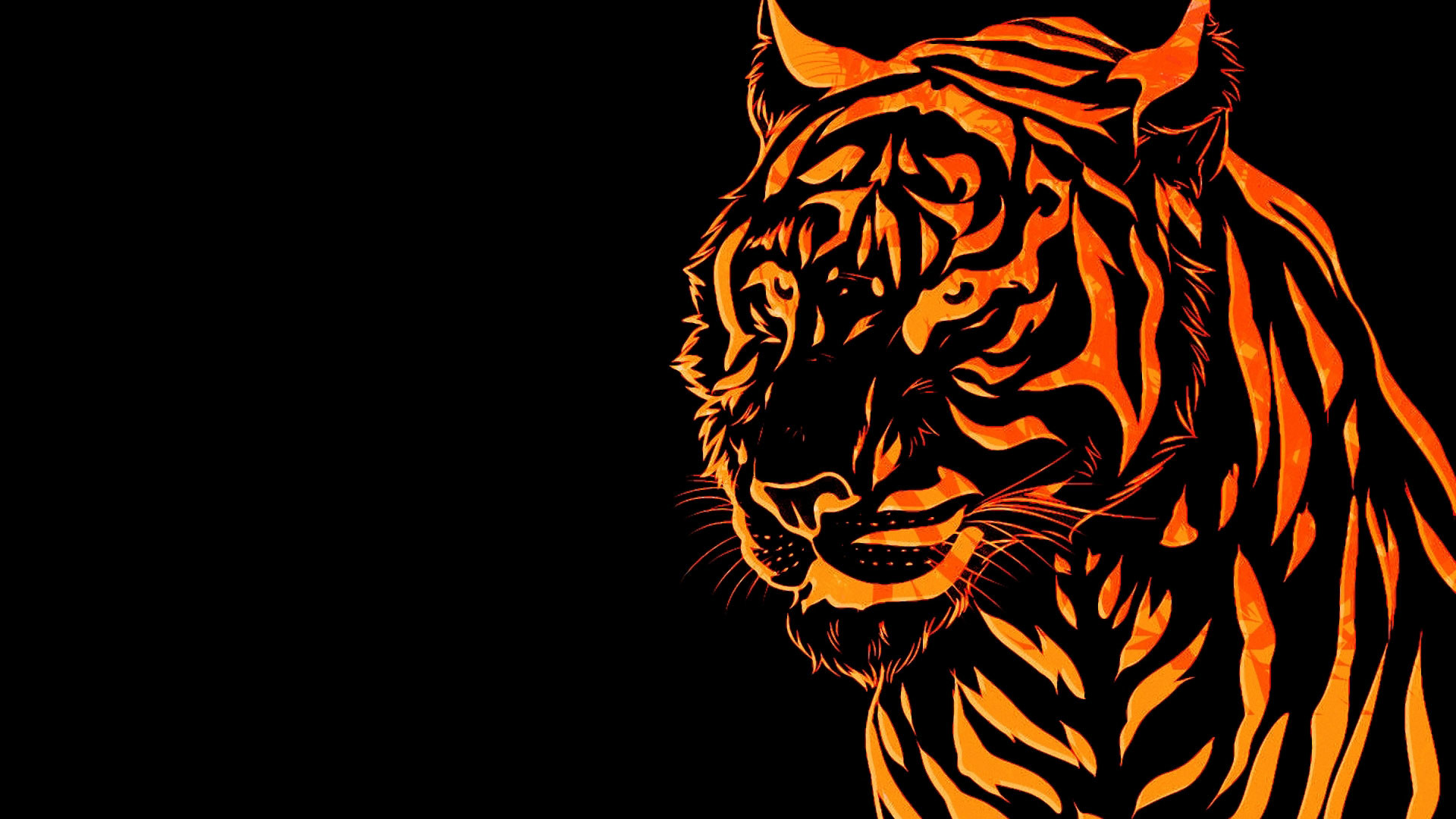neon tiger wallpaper (65+ images)