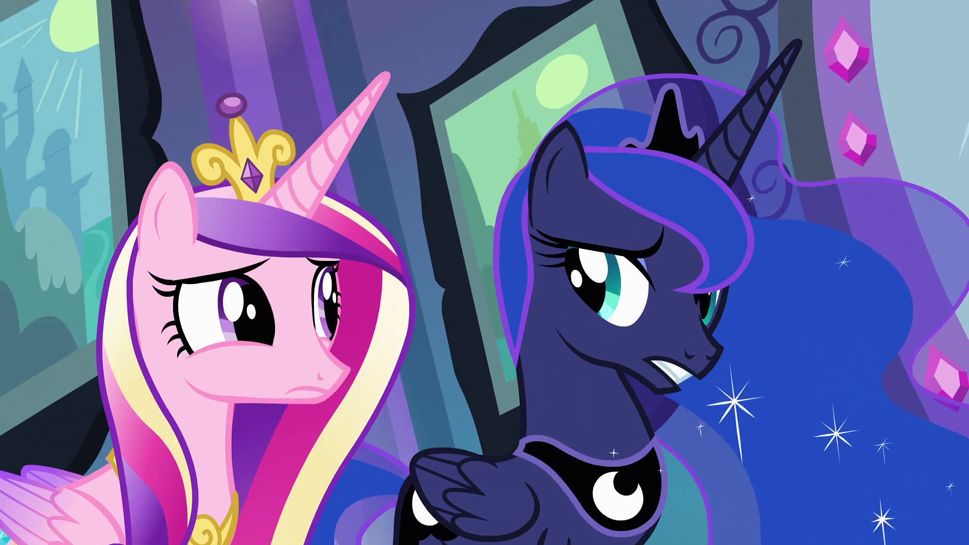 1920x1080 Image - Princess Luna and Princess Cadance EG.png | My Little Pony  Friendship is Magic Wiki | FANDOM powered by Wikia