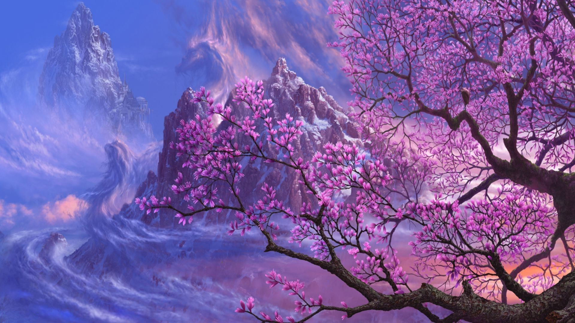 magnolia tree wallpaper wwwpixsharkcom images