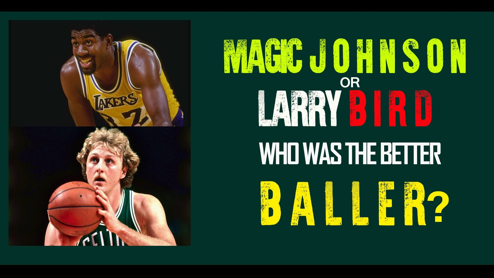 1920x1080 Larry Bird vs Magic Johnson, who was better - NBA - ESPN First Take  [African Eps]