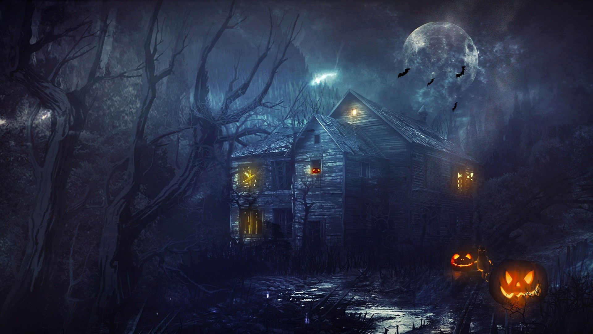 1920x1080 Halloween Backgrounds – Festival Collections