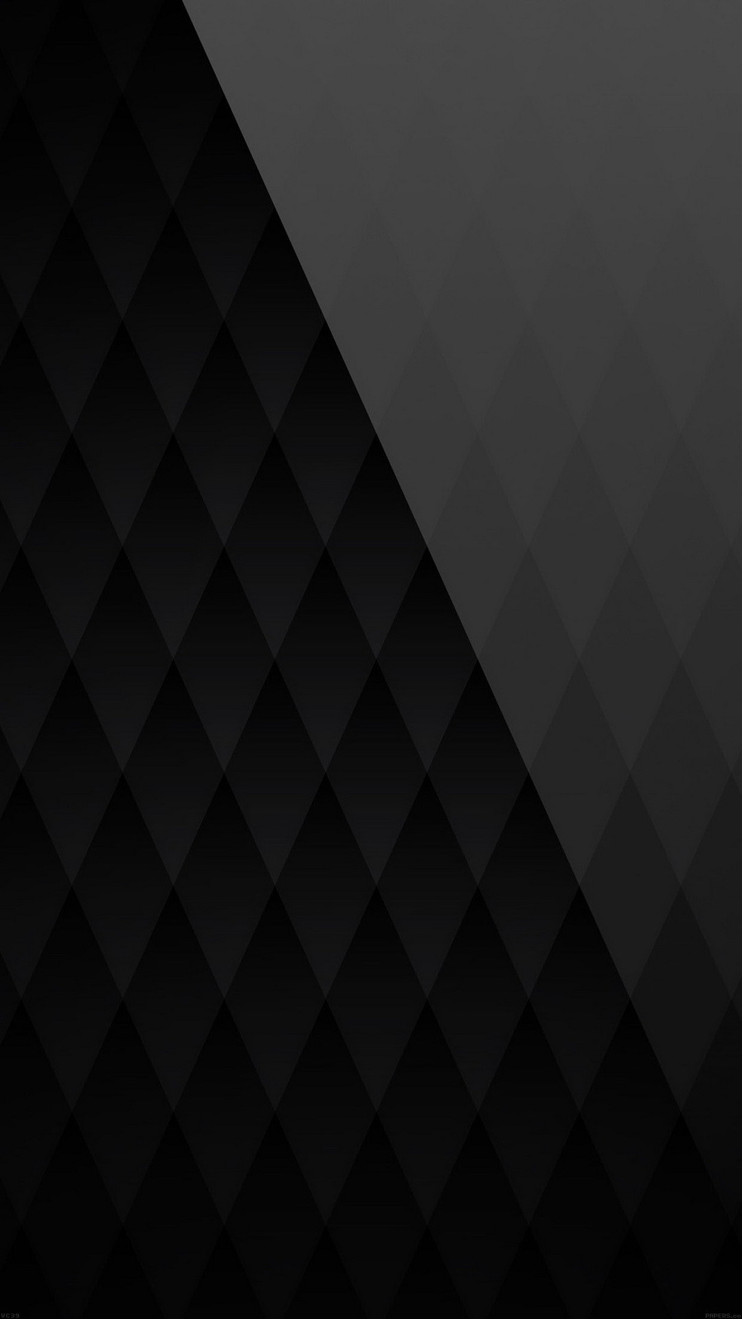 1080x1920 Black Diamond Pattern Angle Android Wallpaper ...