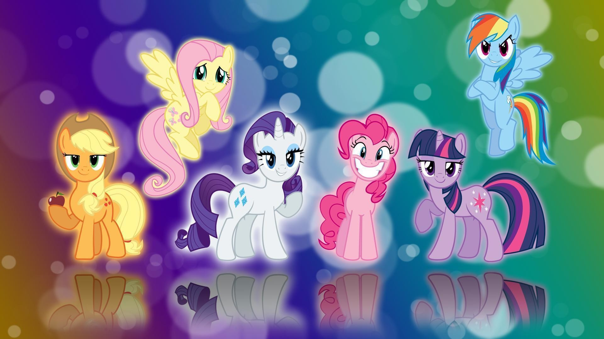 1920x1080 <b>My Little Pony</b> Mane 6 HD desktop <b