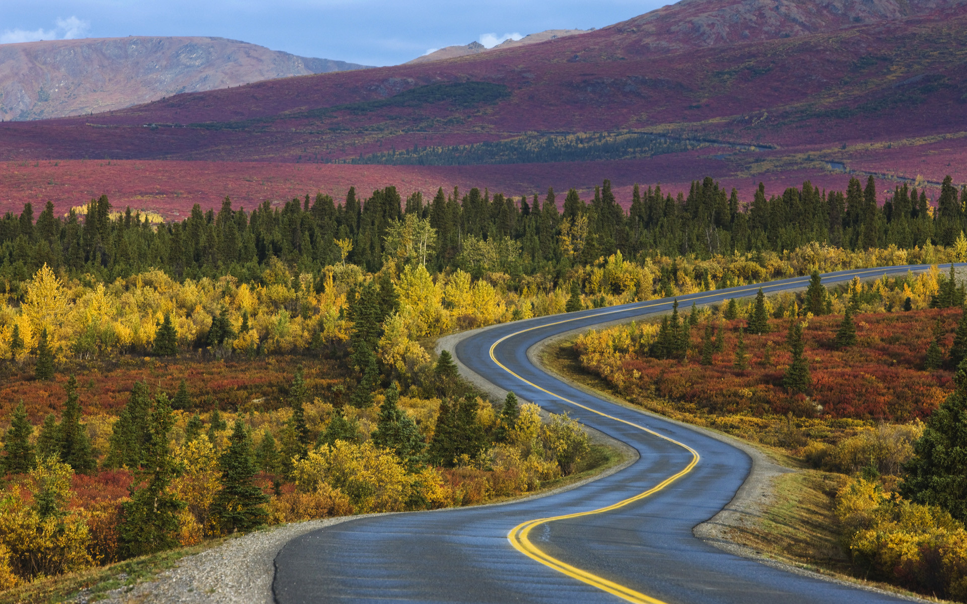 1920x1200 Windows 7 Desktop Backgrounds, Theme: American Road Trip