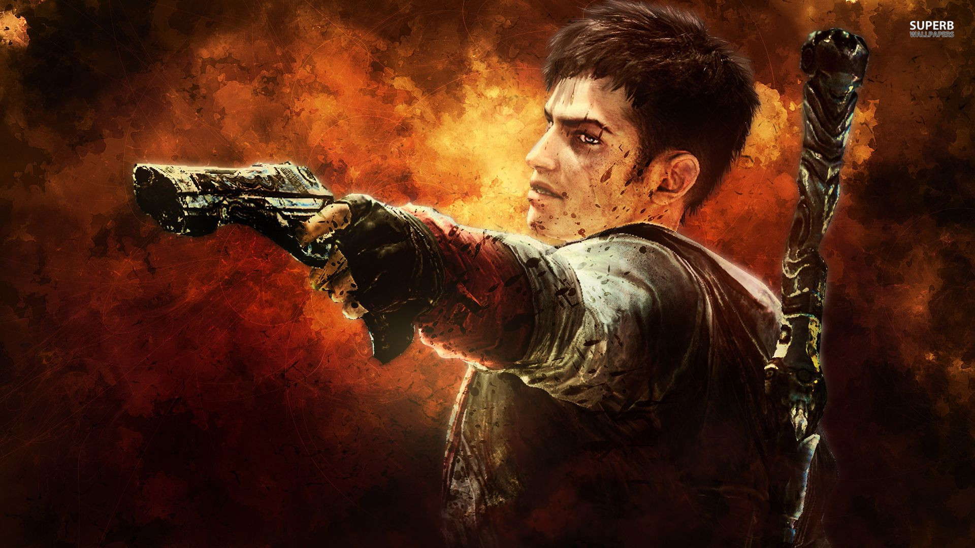 Devil may cry wallpaper hd 65 images 2048x1157 voltagebd Images