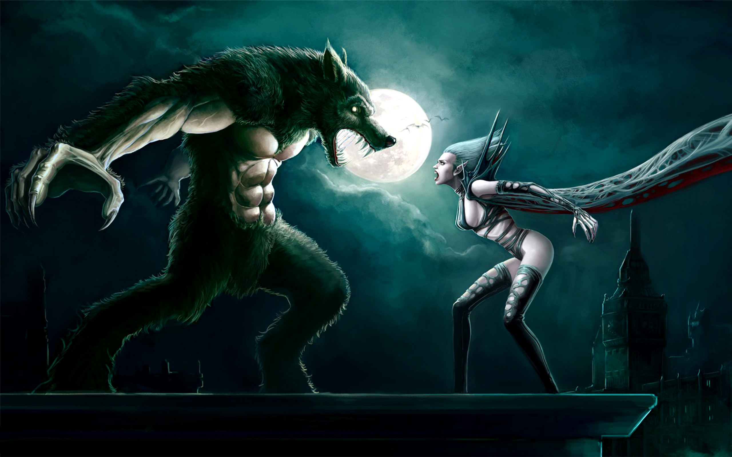 Werewolf wallpaper hd 75 images 1920x1200 dark werewolf dark animal fantasy creature snake black creepy wallpaper voltagebd Image collections