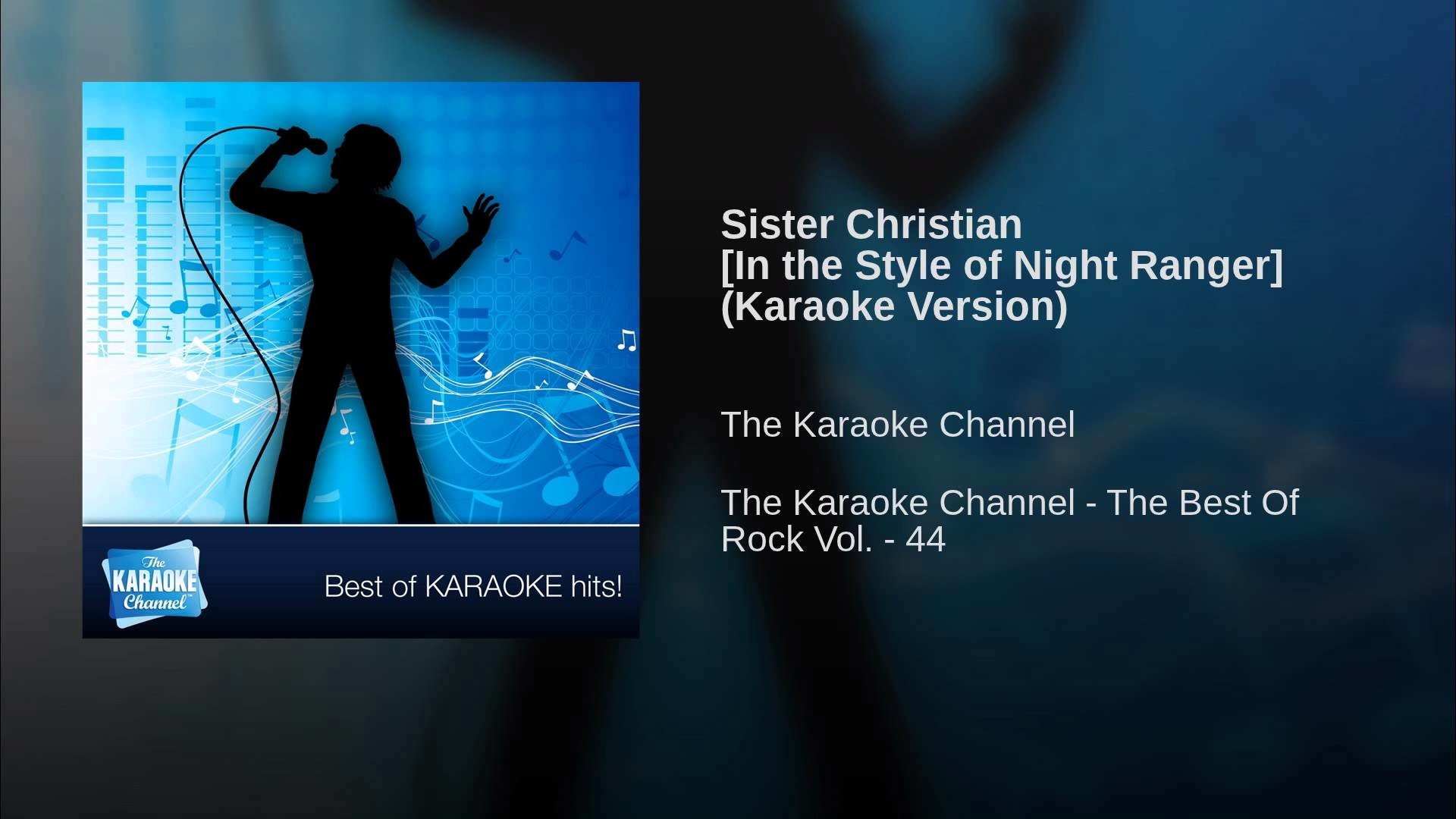 1920x1080 Sister Christian [In the Style of Night Ranger] (Karaoke Version)