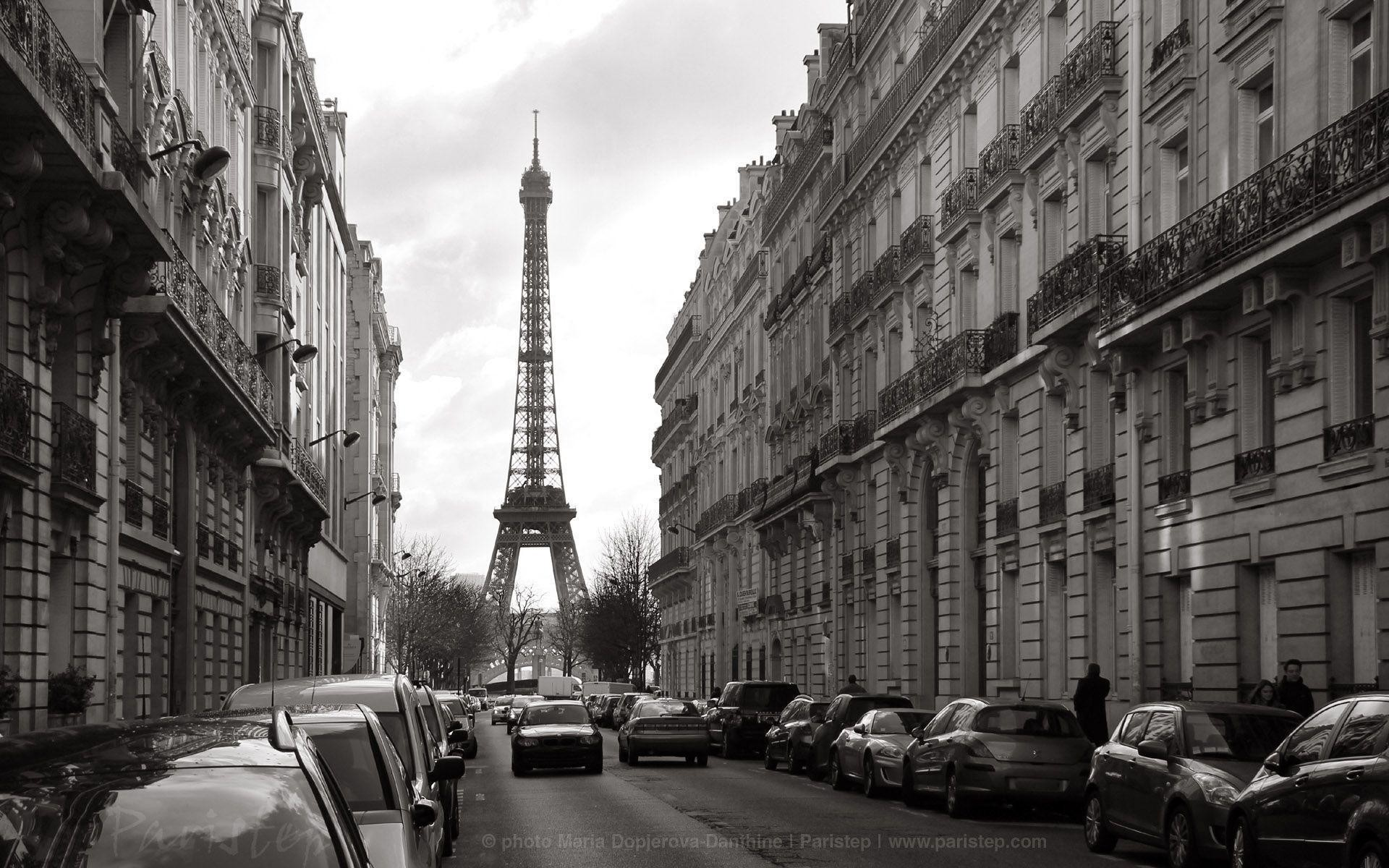 Black and White Paris Wallpaper (57+ images)