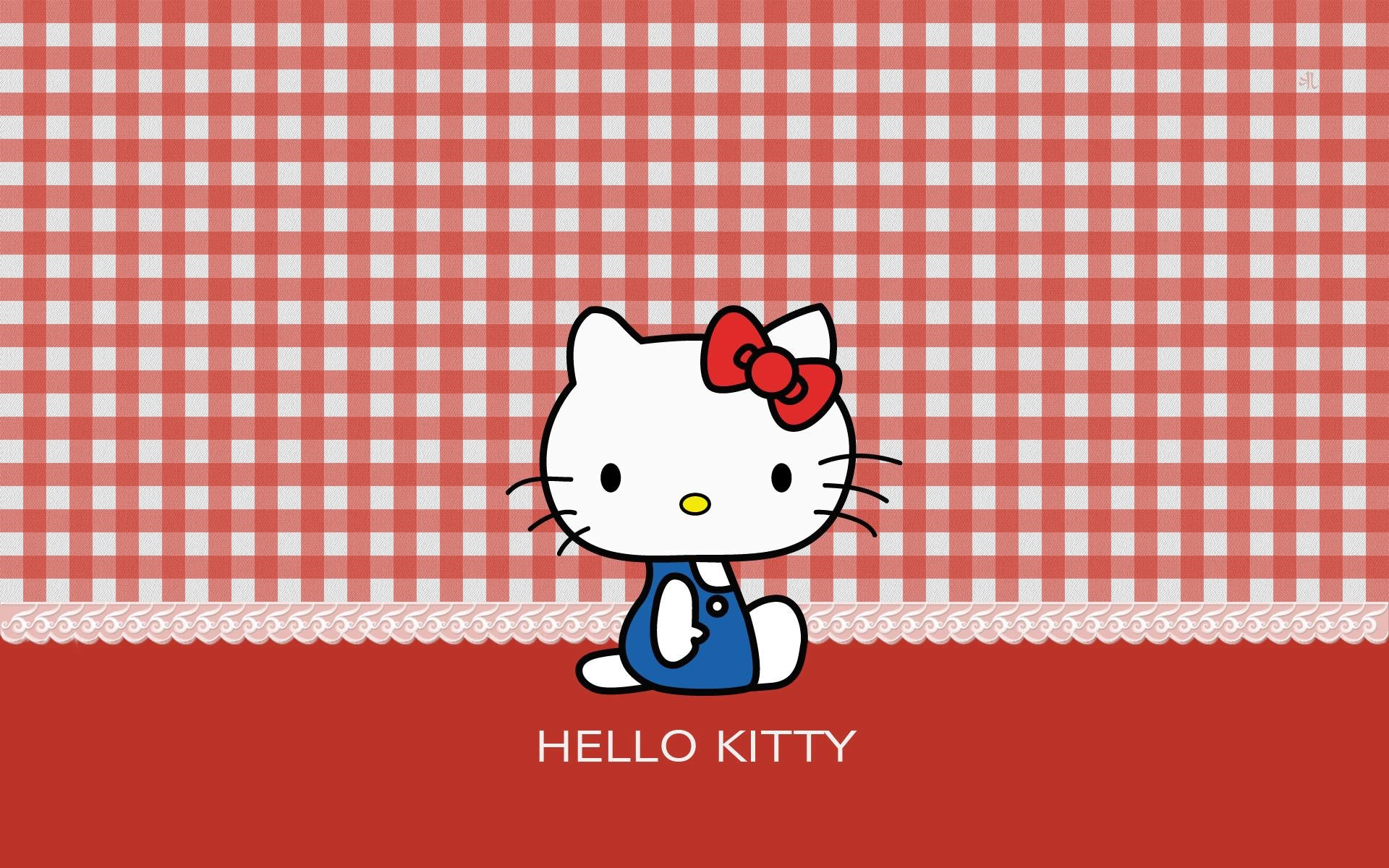 1920x1200 Wallpapers For > Black And Red Hello Kitty Background