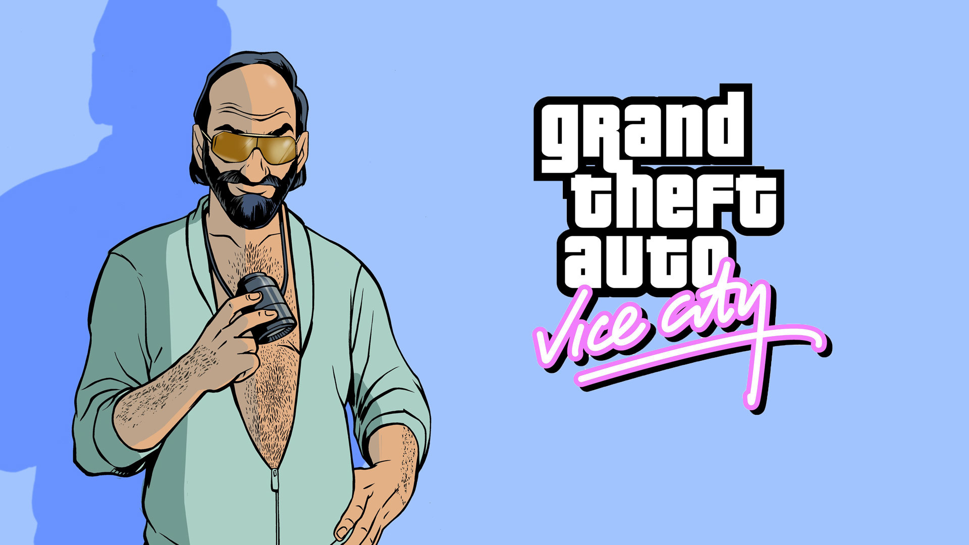 1920x1080 Free Grand Theft Auto: Vice City Wallpaper in