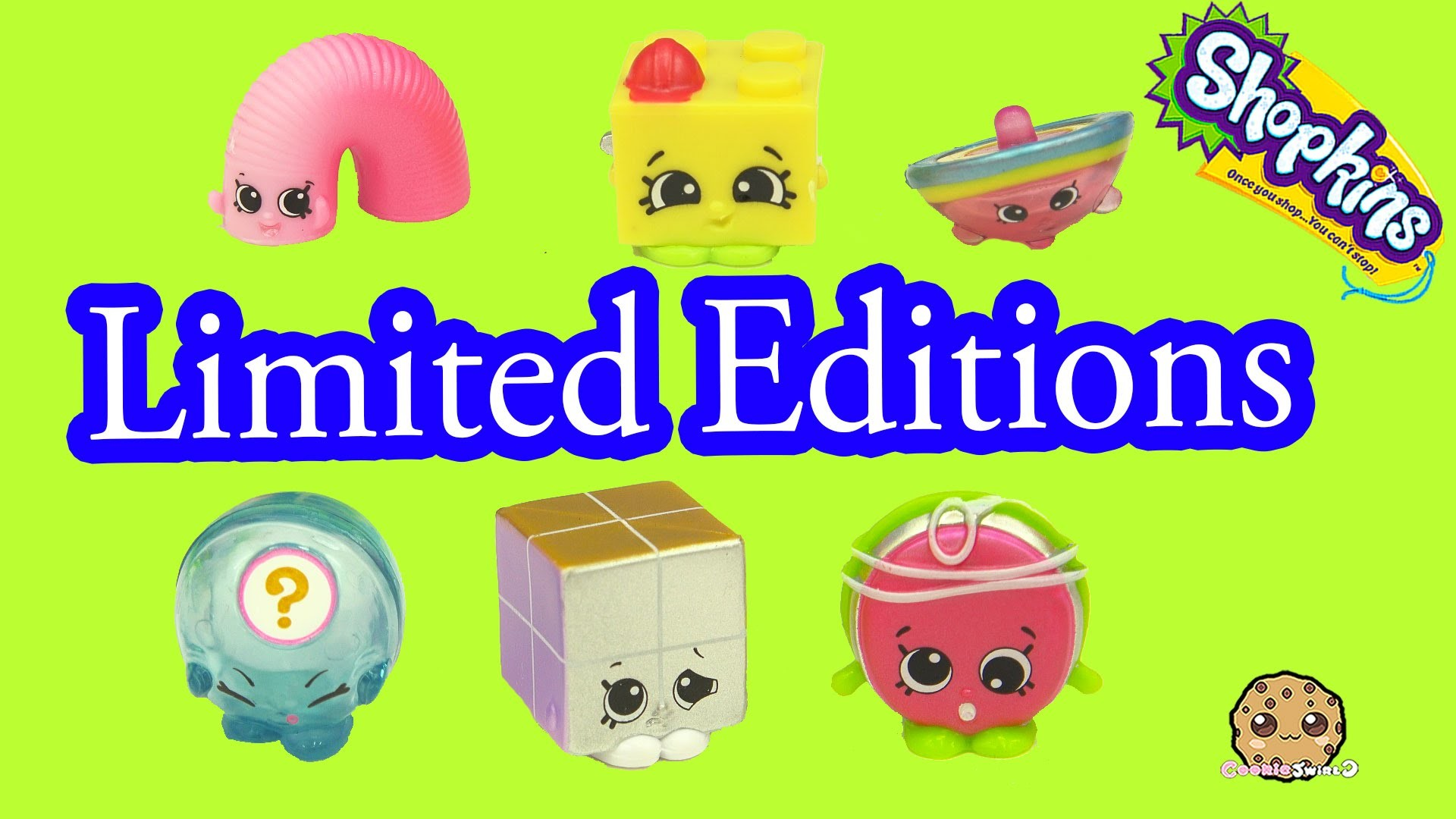 1920x1080 All 6 Season 5 Shopkins Tiny Toys Limited Edition Complete Set Blind Bag Opening