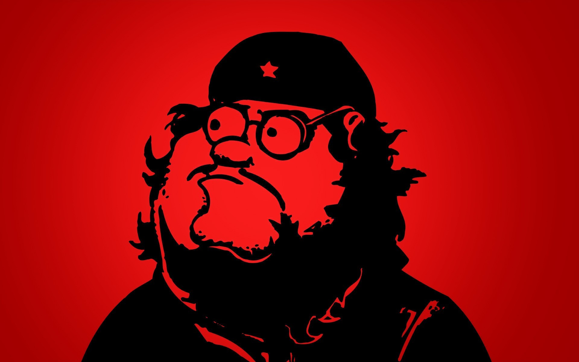 1920x1200 Cartoons communist peter griffin simple background wallpaper