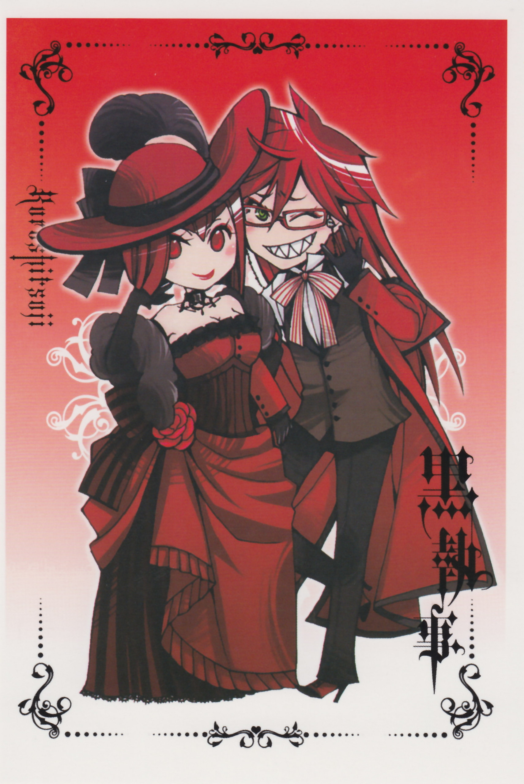 1711x2560 grell sutcliff fan club images Grell HD wallpaper and background photos