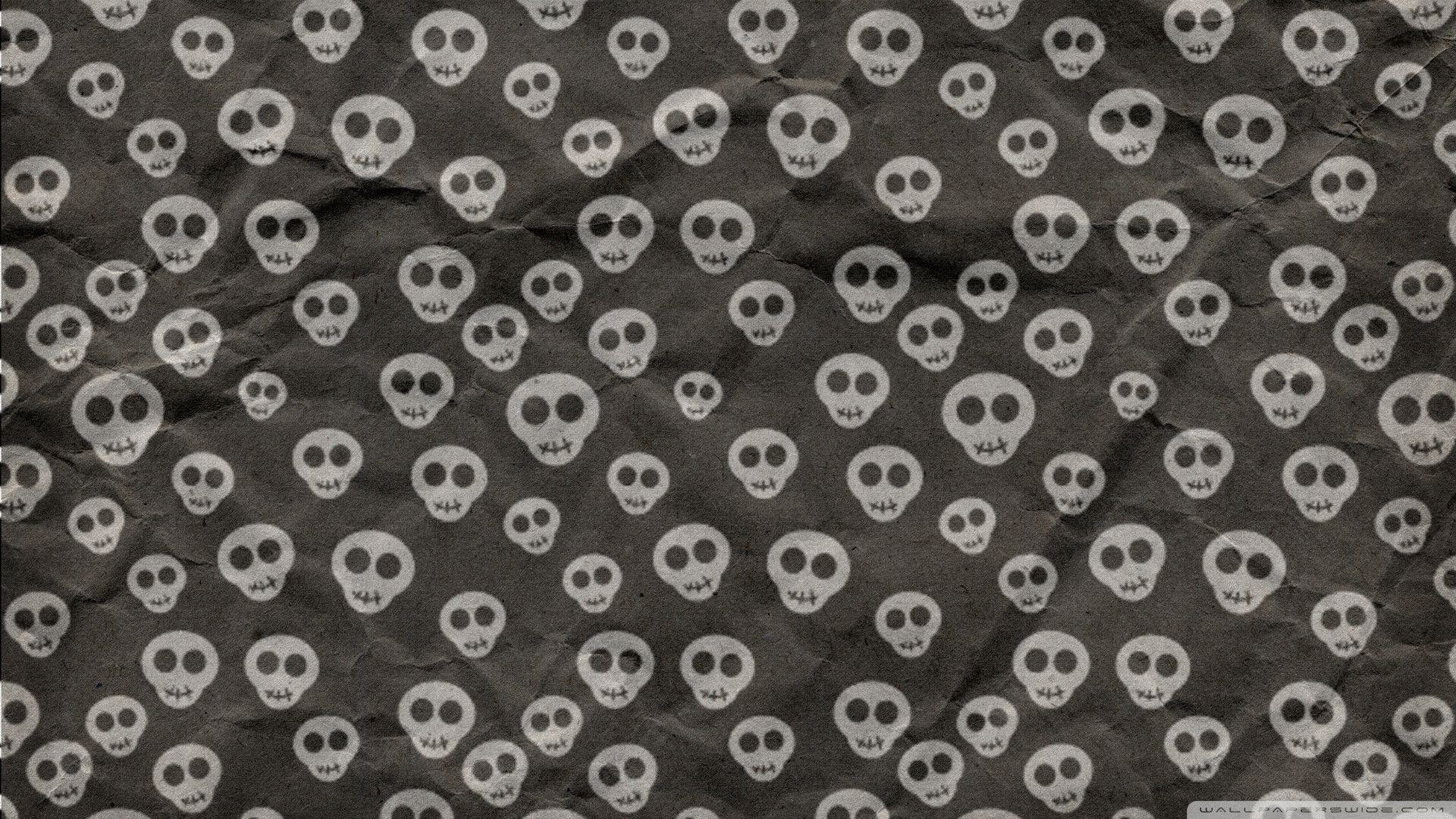 1920x1080 Images For > Cute Skulls Tumblr Background
