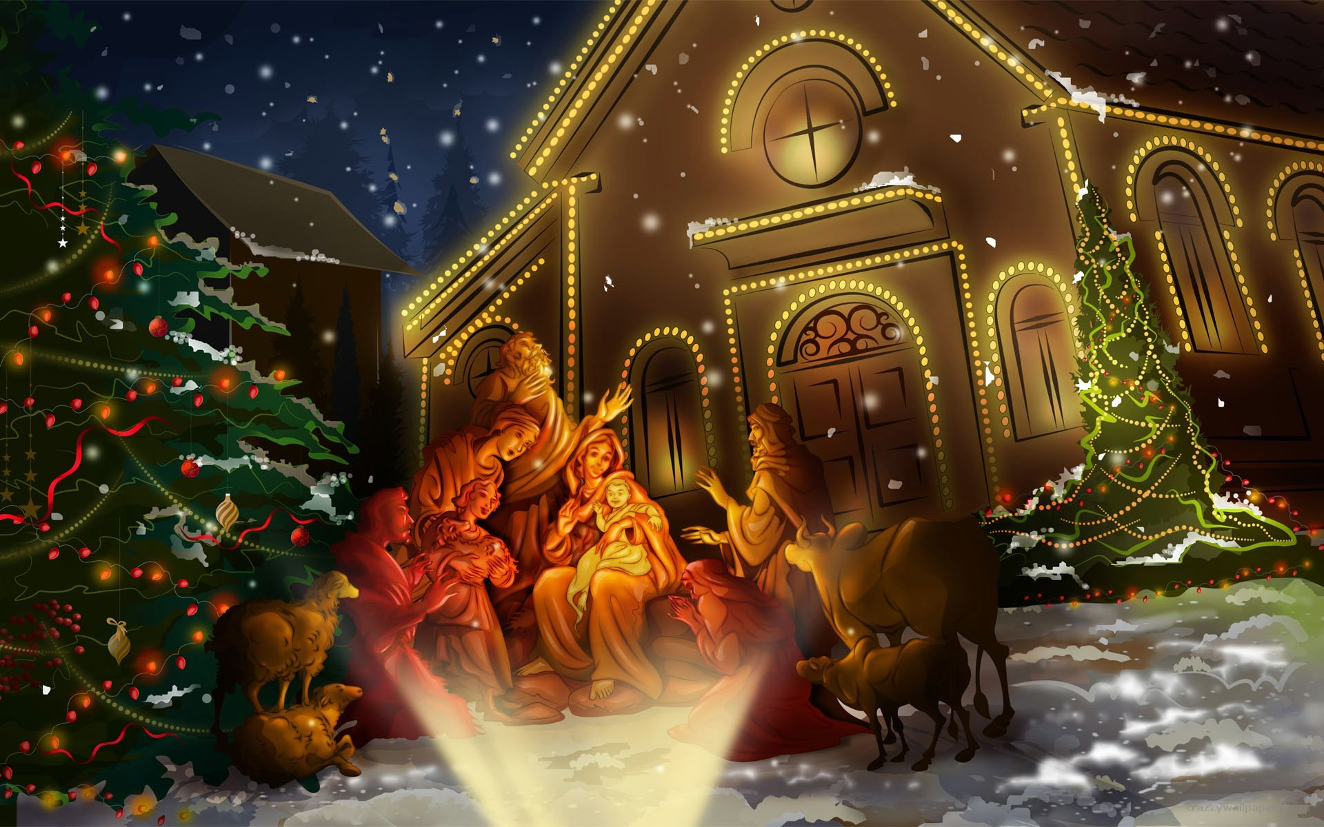 3d Animated Christmas Wallpapers 62 Images
