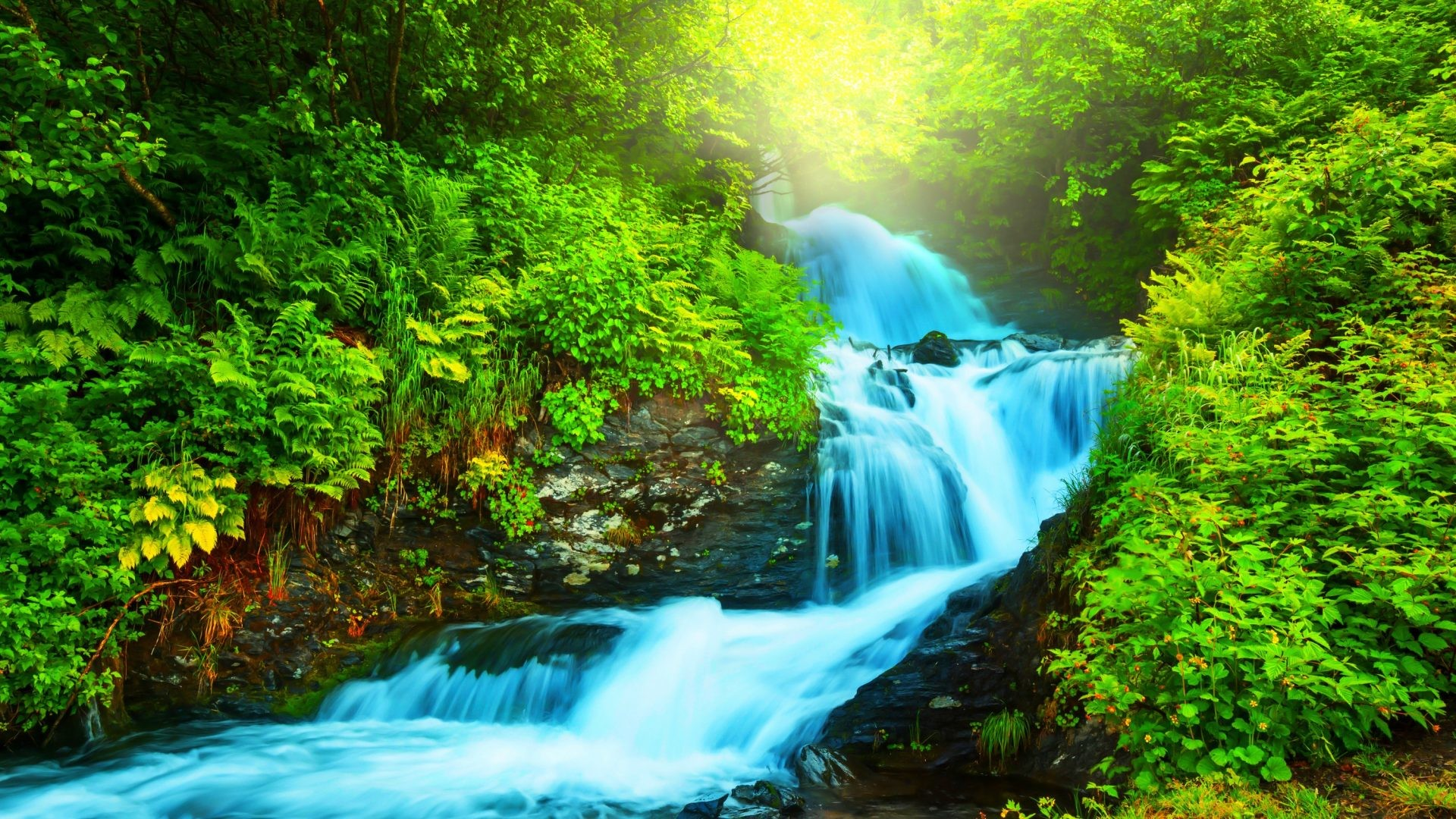 Wallpaper Scenery Waterfall (53+ Images