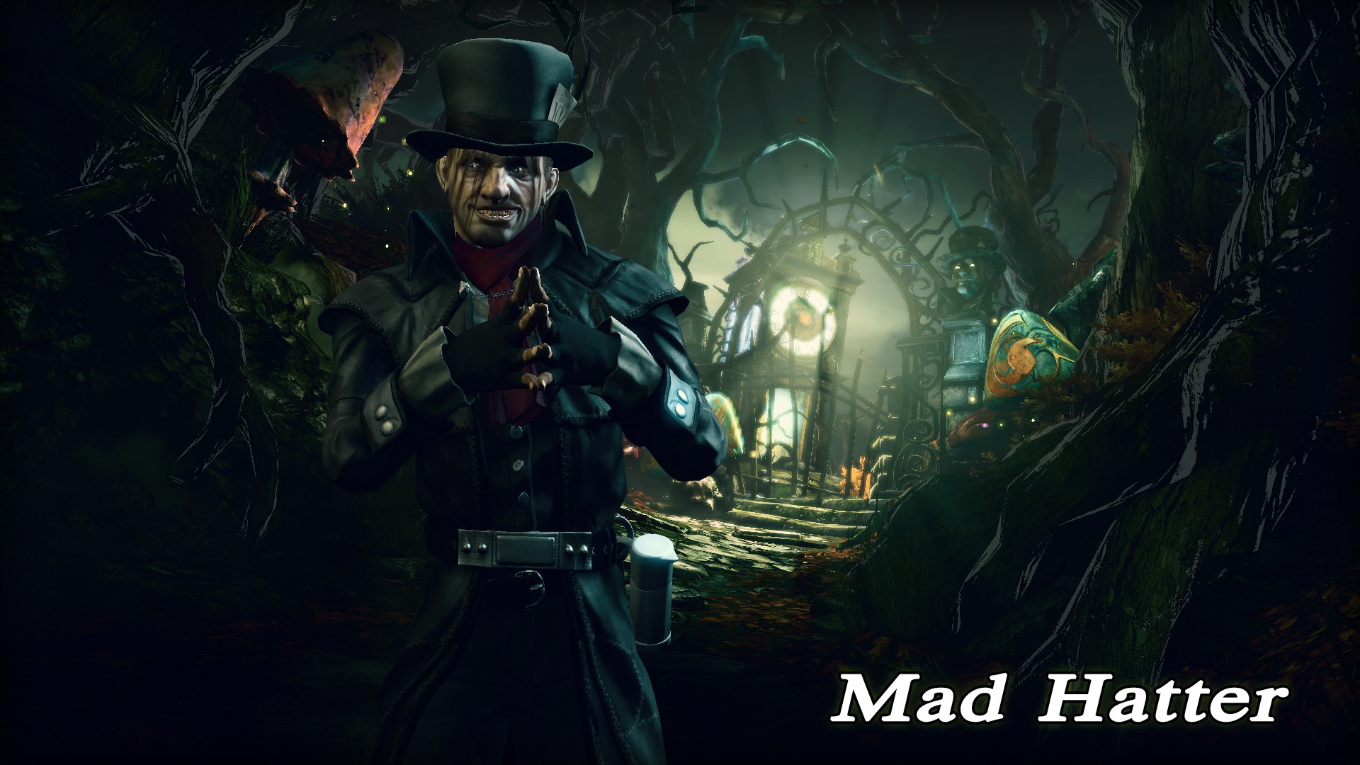 1920x1080 Click to edit. Mad Hatter Wallpaper