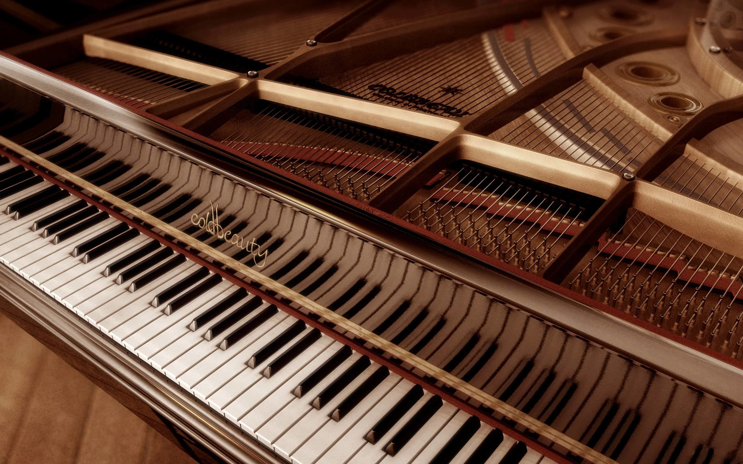2560x1600 Wallpapers For > Piano Wallpaper Hd Vintage