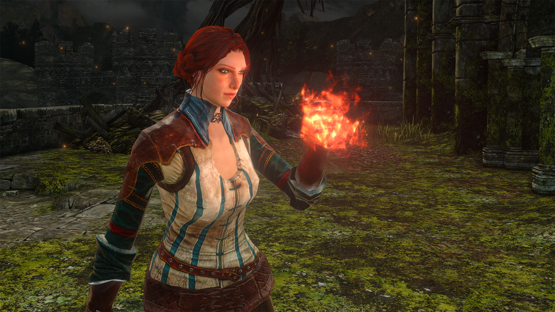 The witcher 2 triss nude mod cartoon toons