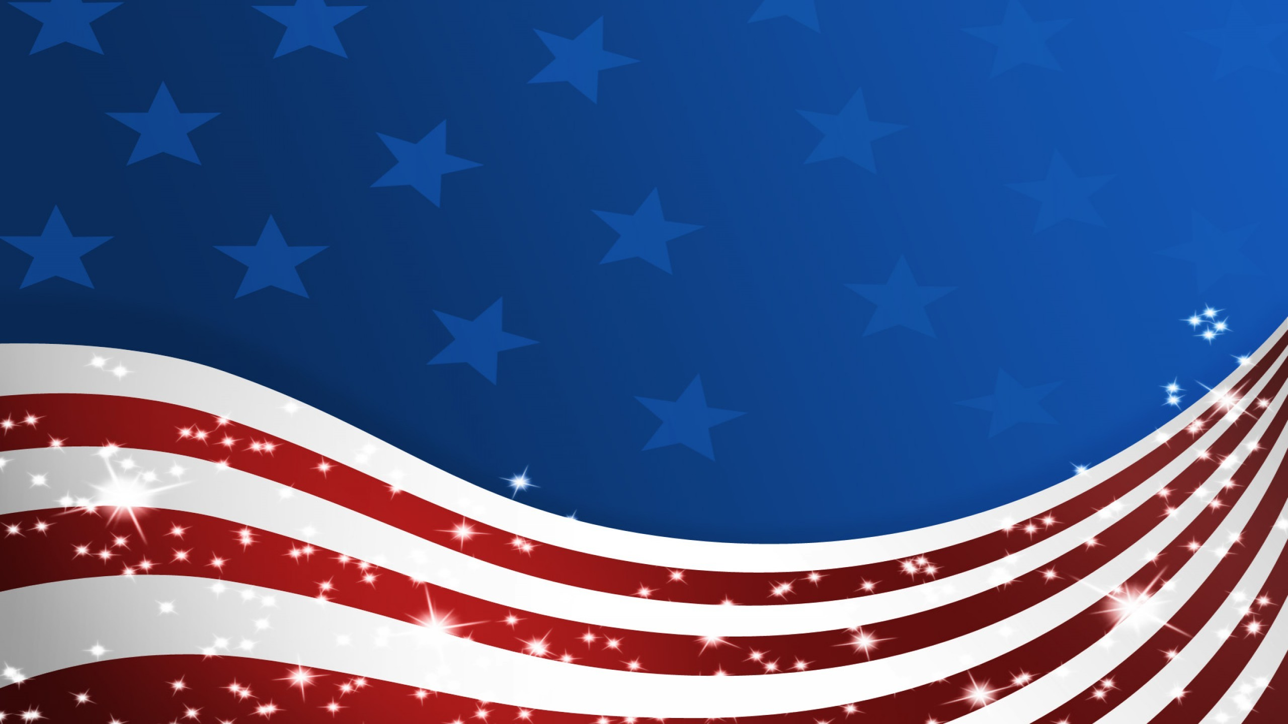 2560x1440 American Background Cliparts