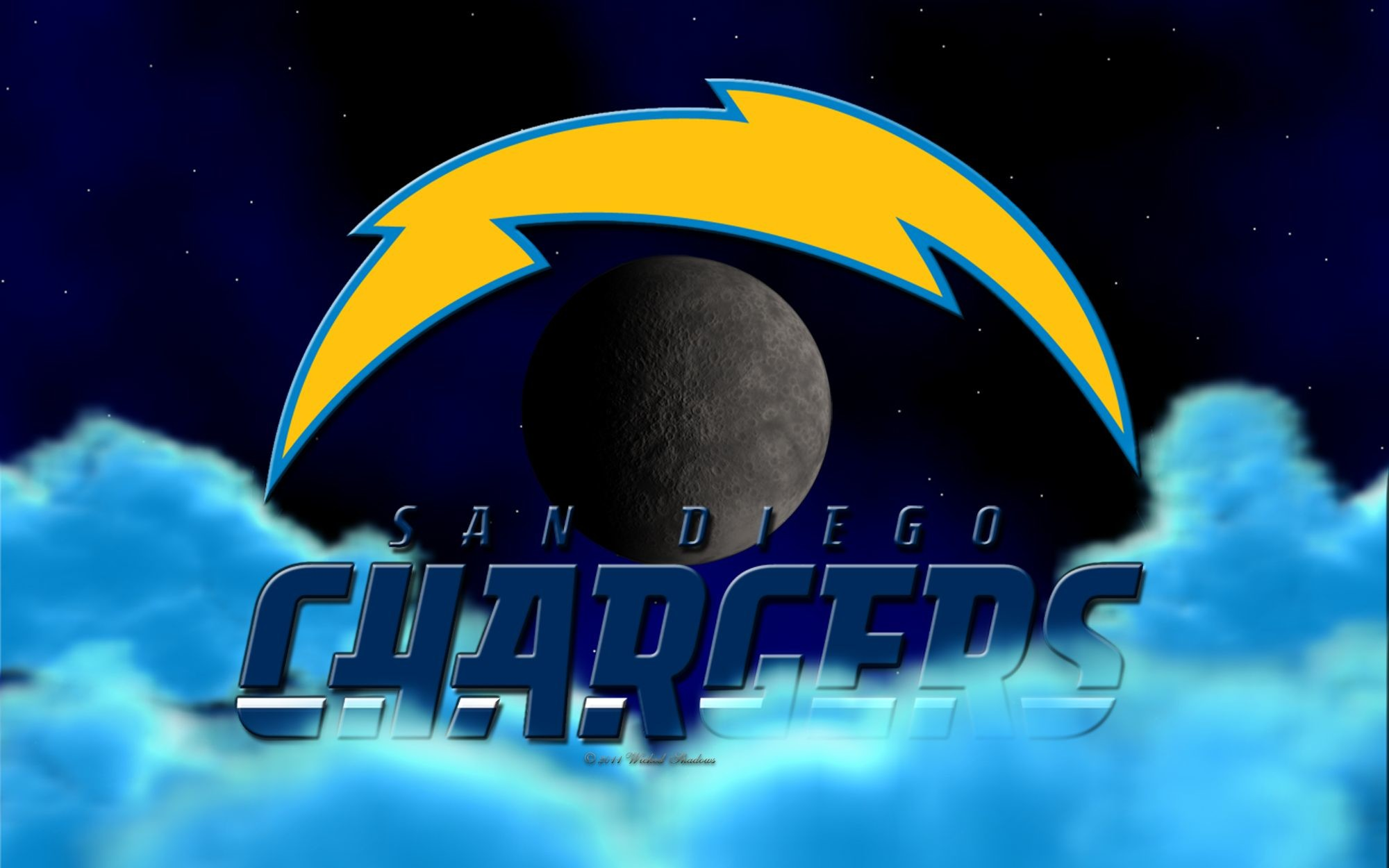 2000x1250 ... 16x10 Widescreen | 1920x1408 Tablet San Diego Chargers Above The Clouds  Wallpaper