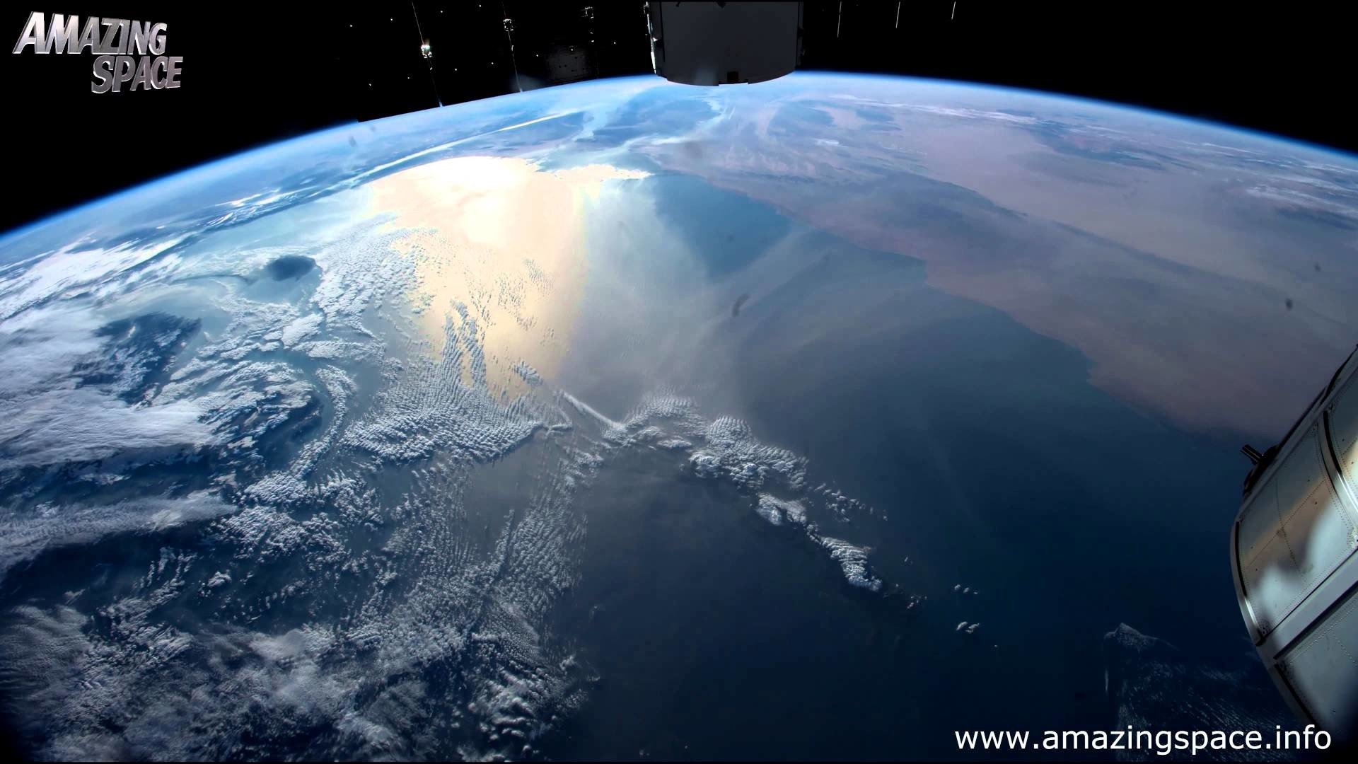 1920x1080 View From Space Time Lapse 4K Ultra HD Video - Earth From ISS : NASA -  YouTube