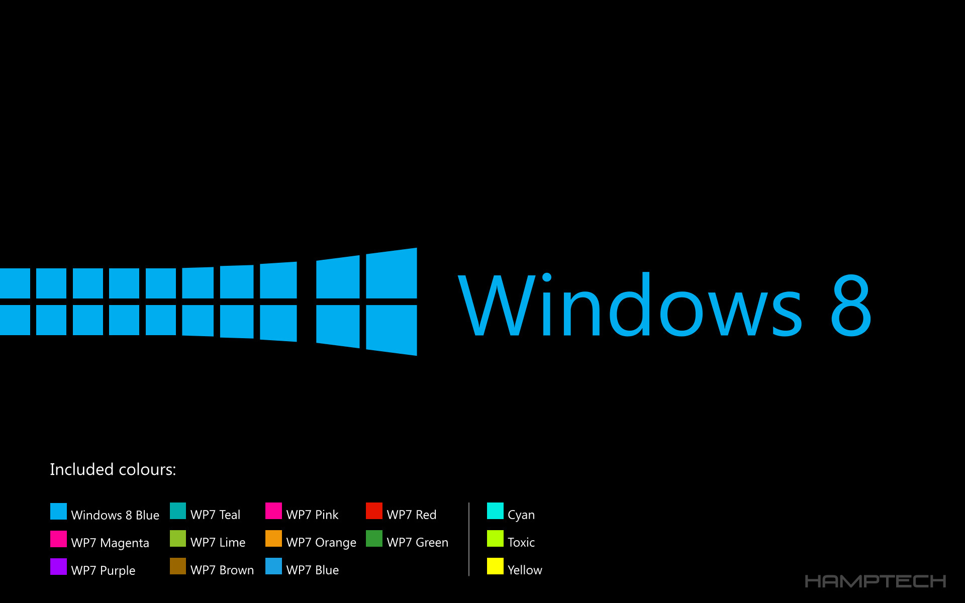 1920x1200 Windows 8 Lockscreen/Wallpaperpack (BlackEdition) by Hamptech on .