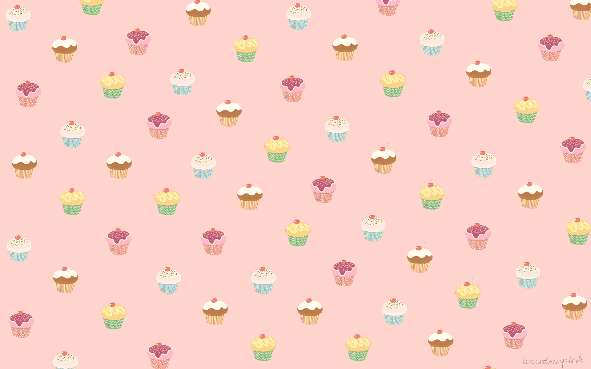 1920x1200 Cute Cupcake Wallpaper Desktop 4115