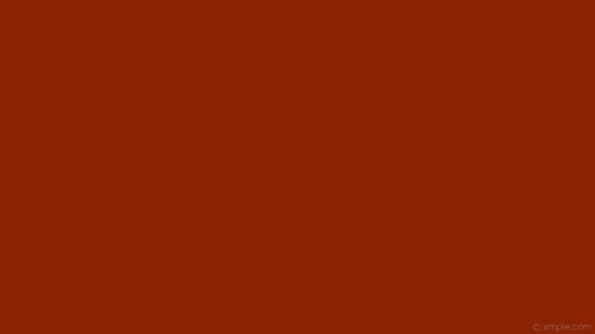 1920x1080 wallpaper red plain one colour single solid color #8a2304