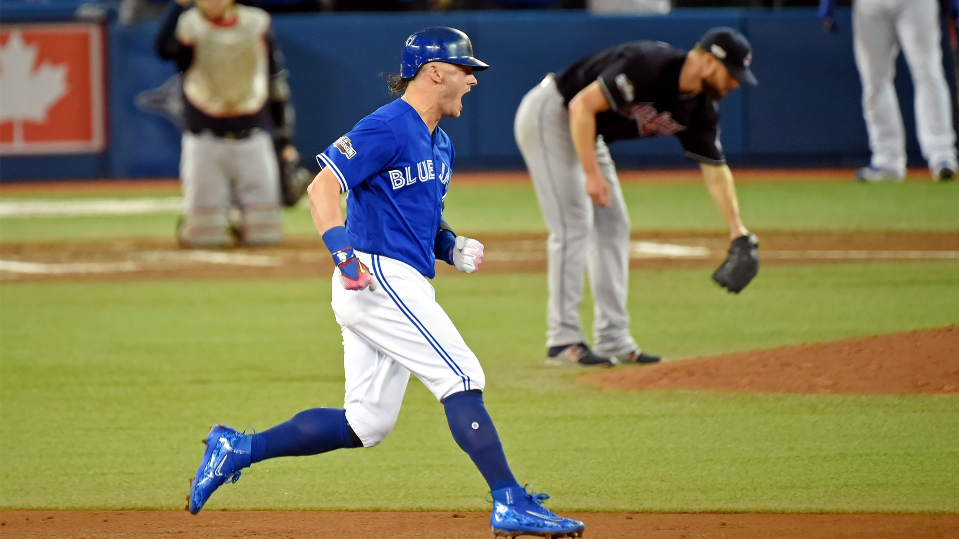 1920x1080 Donaldson homers, Blue Jays beat Indians to stay alive in ALCS