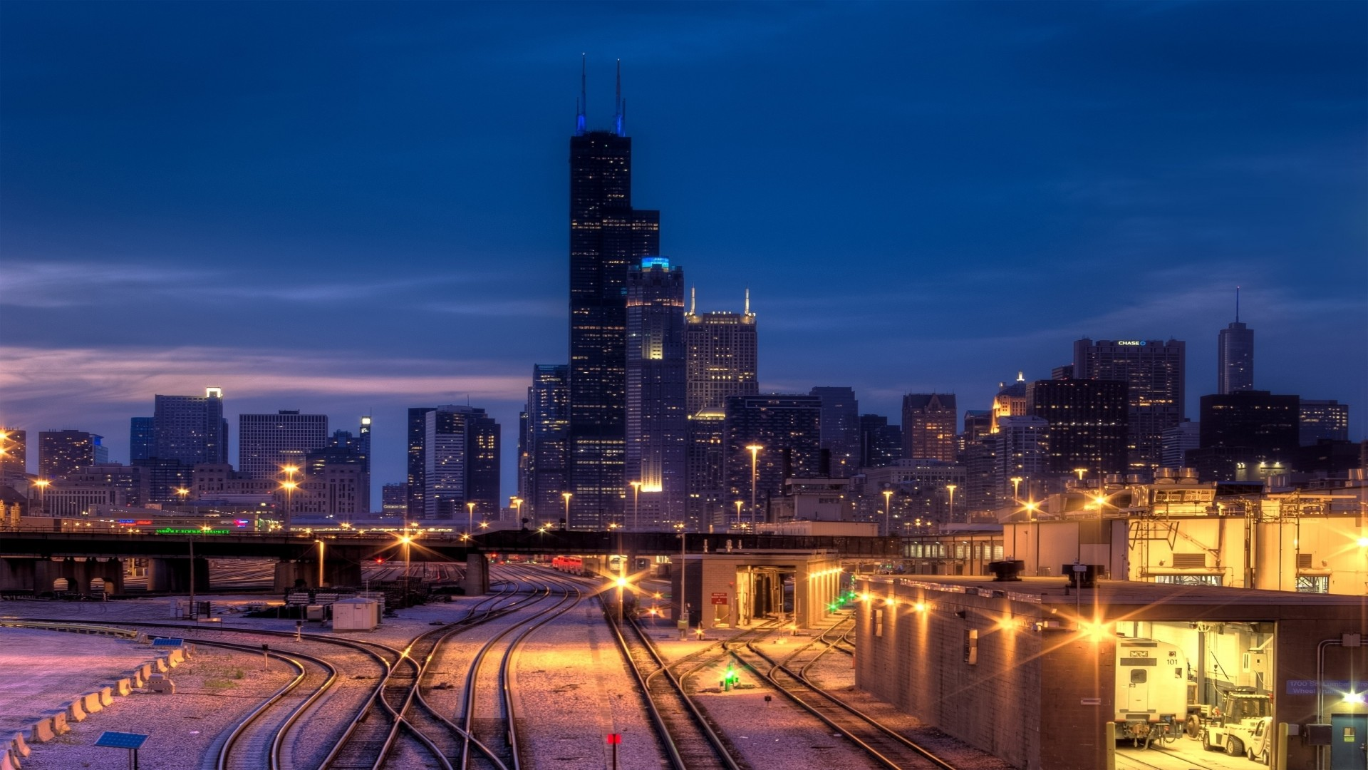 1920x1080 Chicago Illinois Widescreen Wallpaper