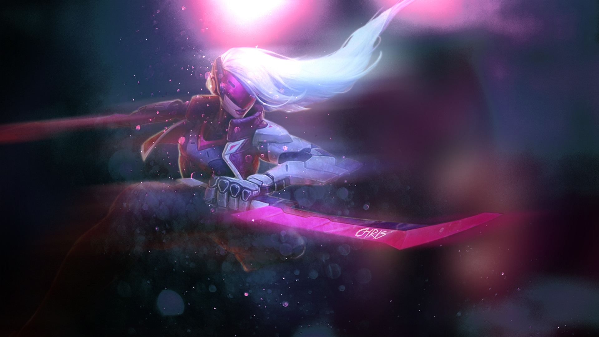 1920x1080 ... League of Legends PROJECT: Katarina Wallpaper by KPPOnline