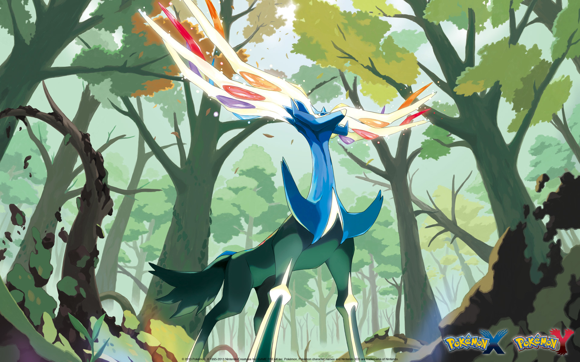 Pokemon x y wallpaper hd 79 images - Evolution pokemon legendaire ...