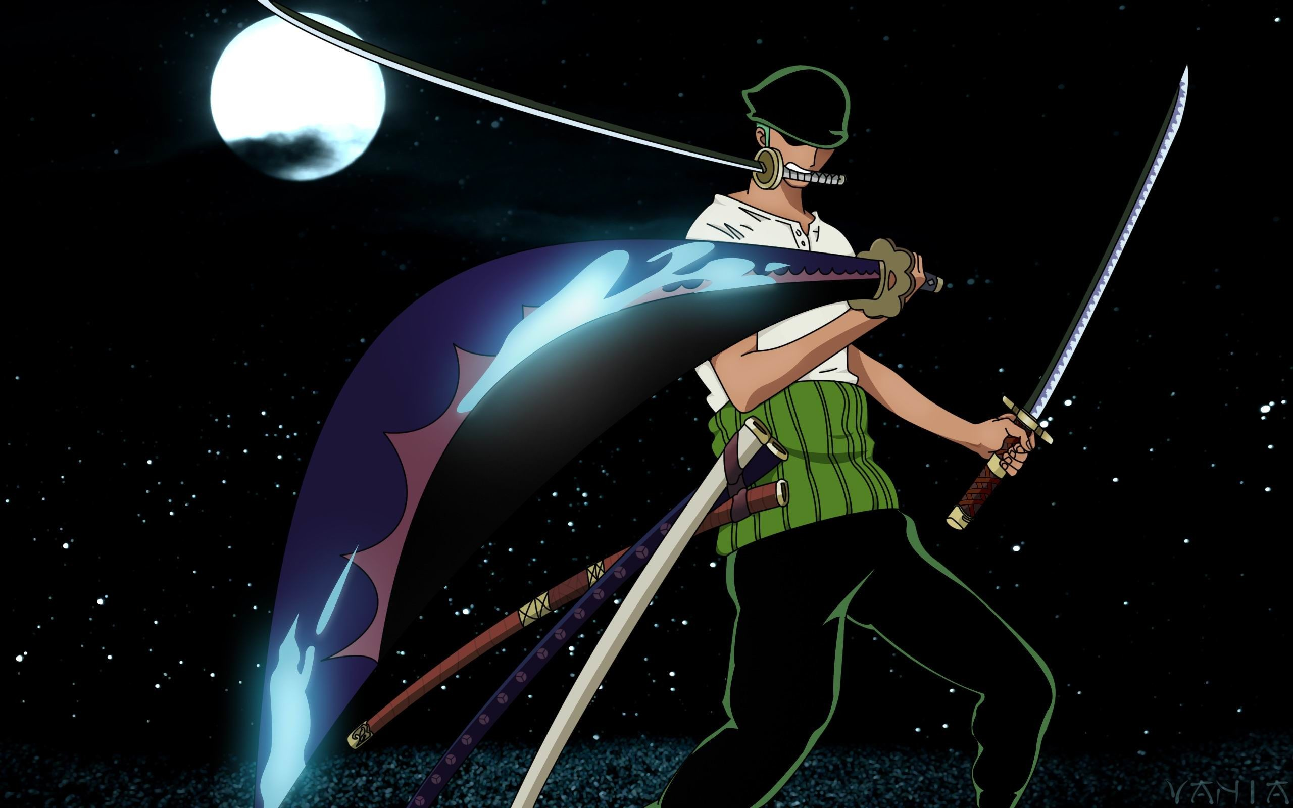 2560x1600 One Piece Zoro 11 Background Wallpaper