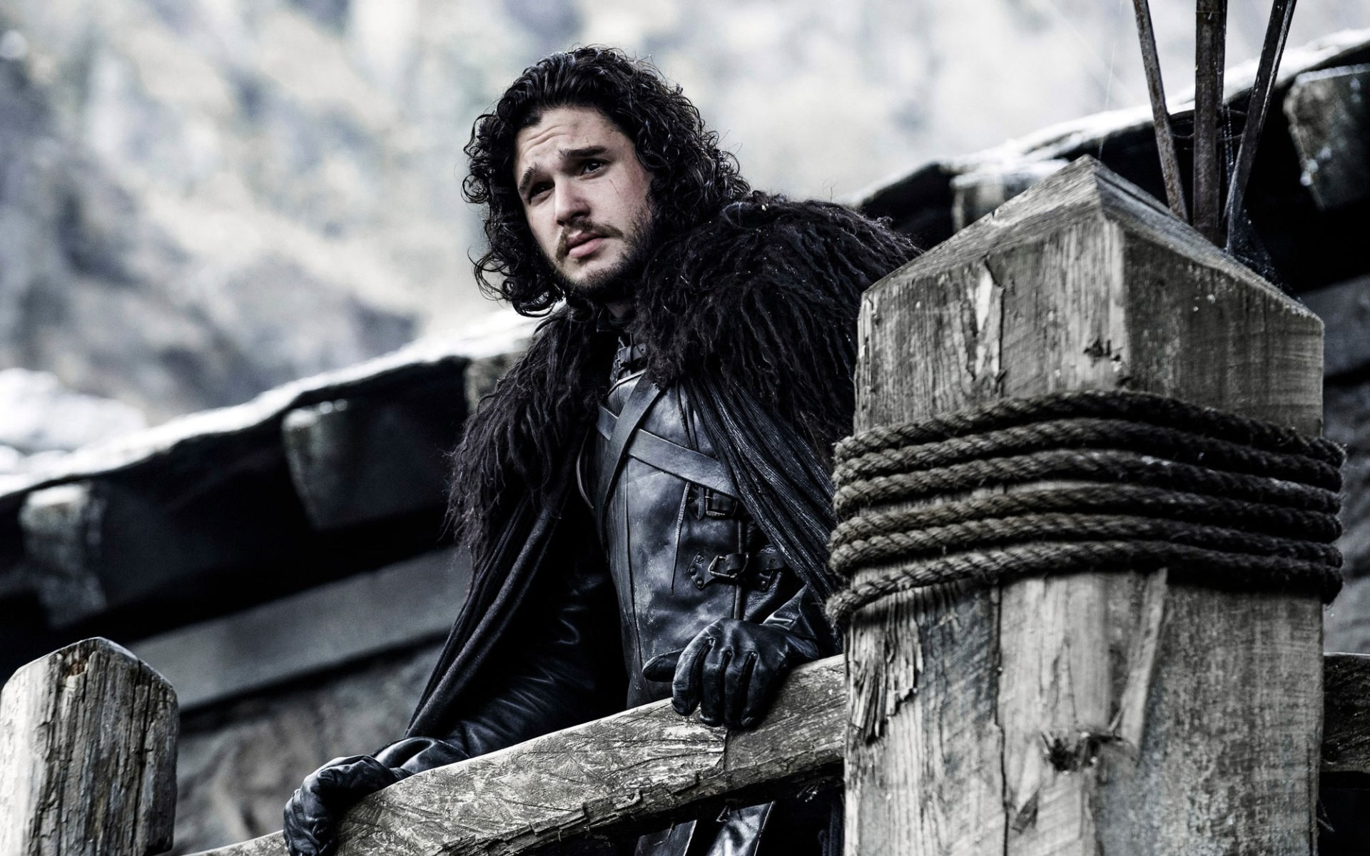 1920x1200 Click Here To Download Jon Snow (Kit Harington) Wallpapers