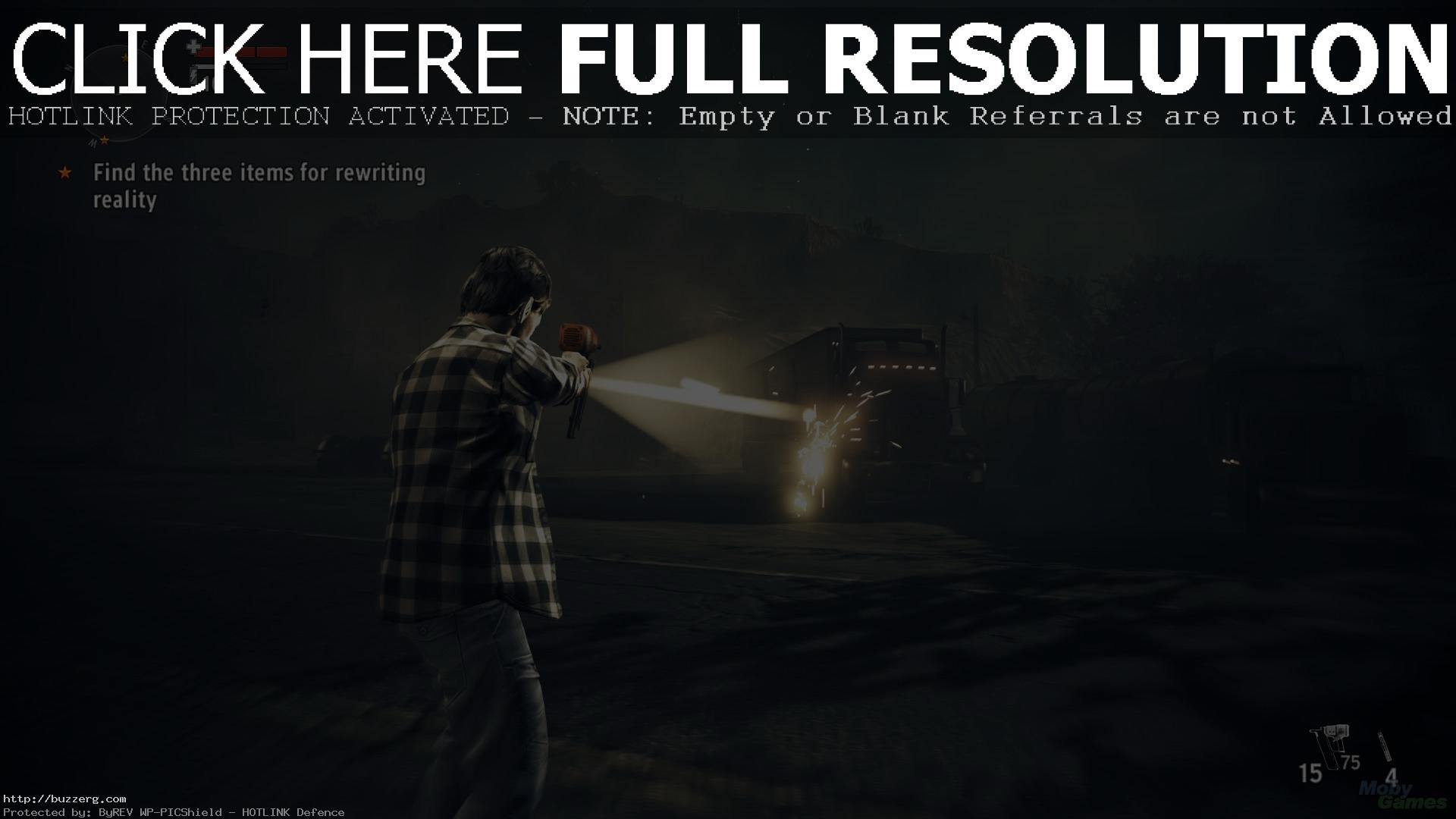 1920x1080 Alan Wake American Nightmare (id: 26207)