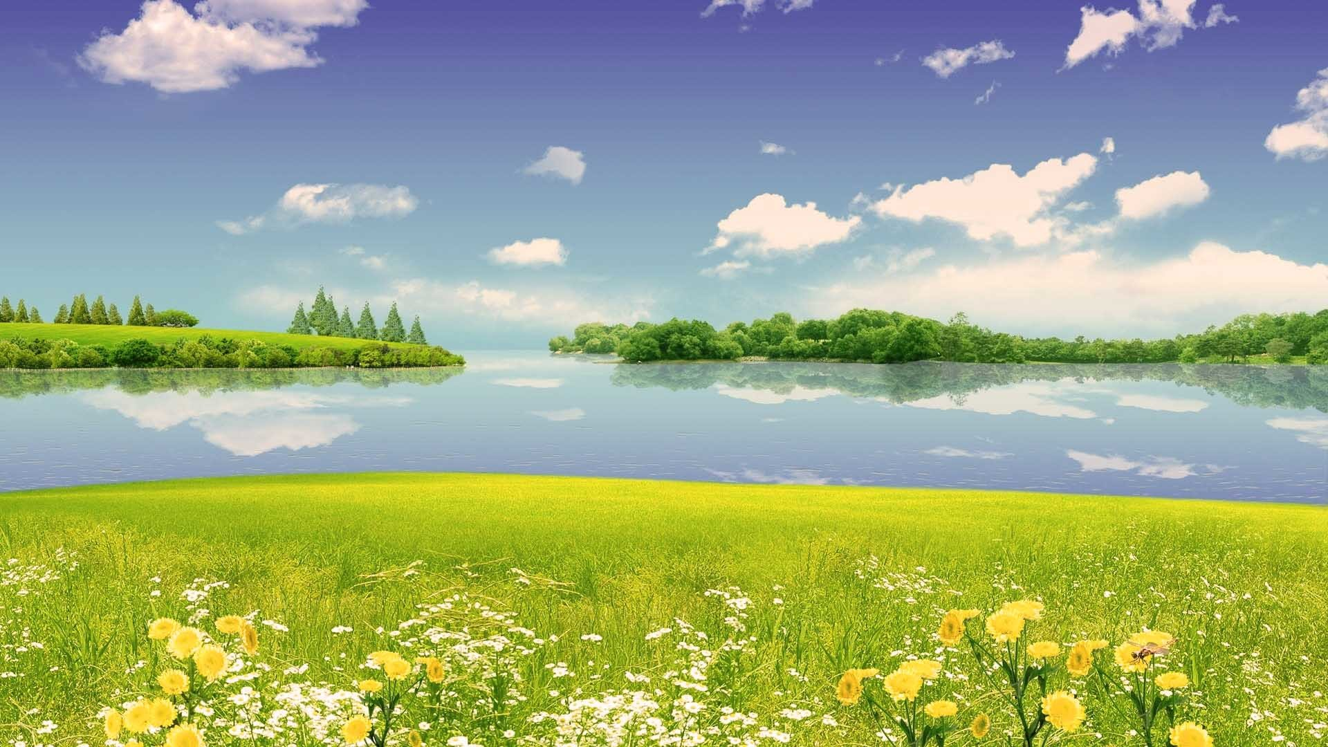 1920x1080 summer scene wallpaper nature gallery summer scene wallpaper .