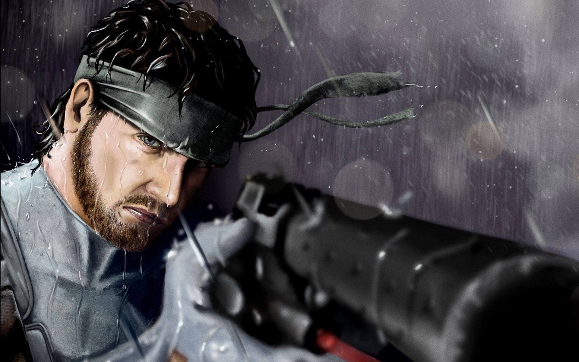 1920x1200 Metal Gear Solid Wallpaper Solid Snake Download