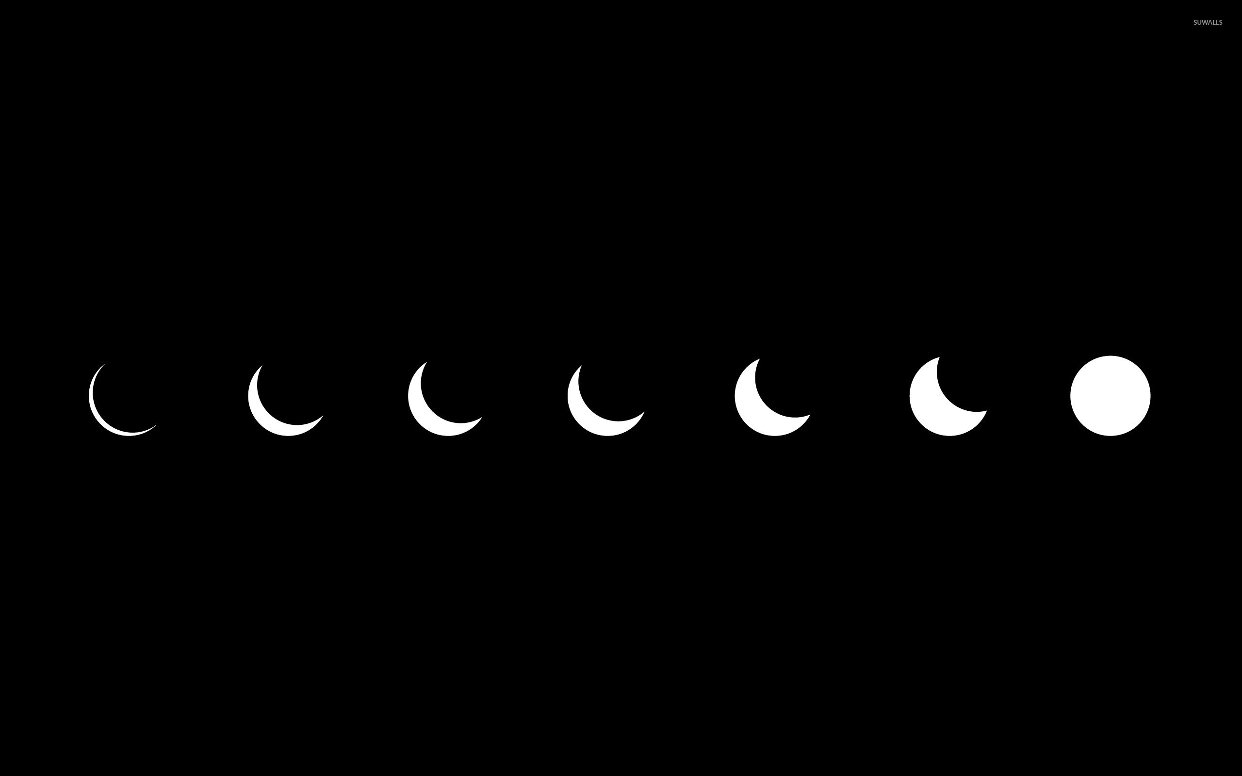 Phases Of The Moon Wallpaper 58 Images