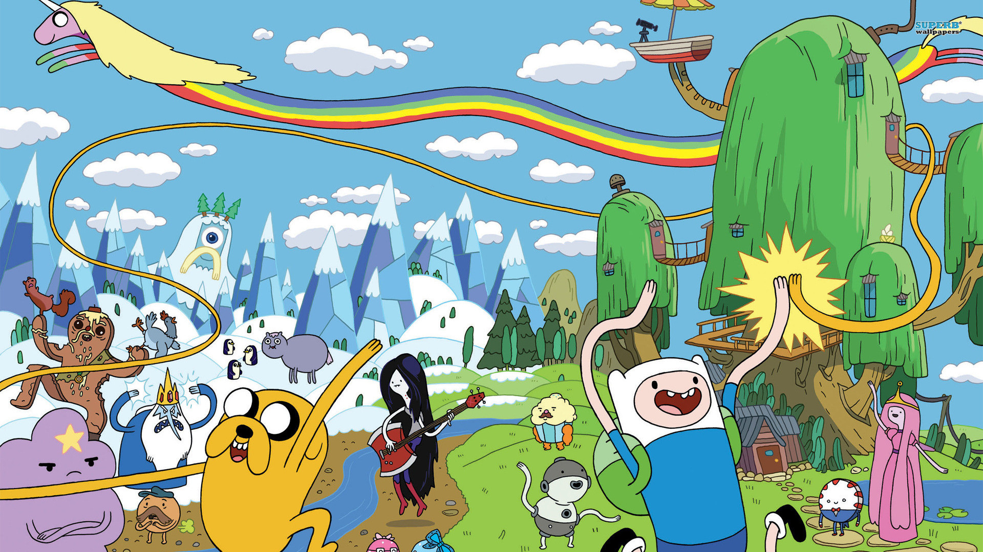 Adventure time wallpapers for desktop 55 images 1920x1080 adventure time wallpapers hd wallpapers early altavistaventures Choice Image
