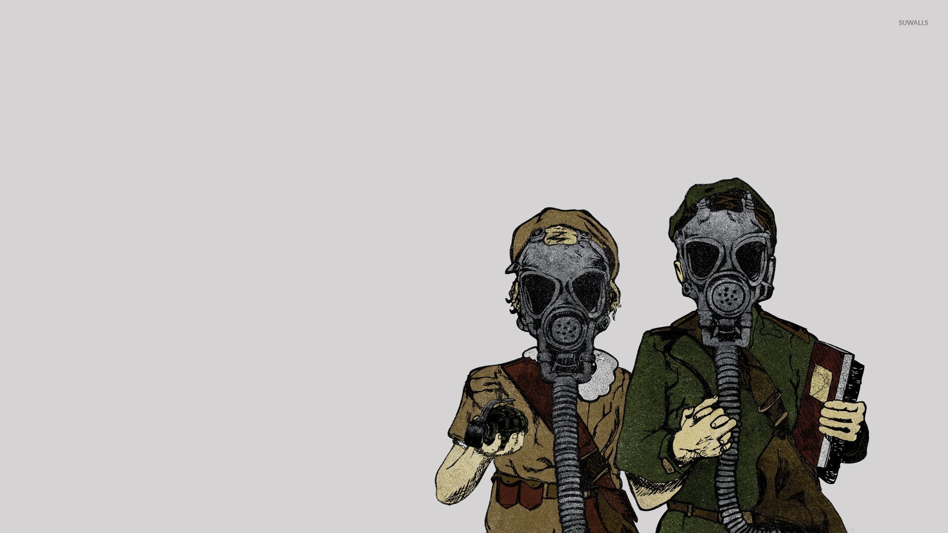 Gas Mask Wallpaper (59+ images)