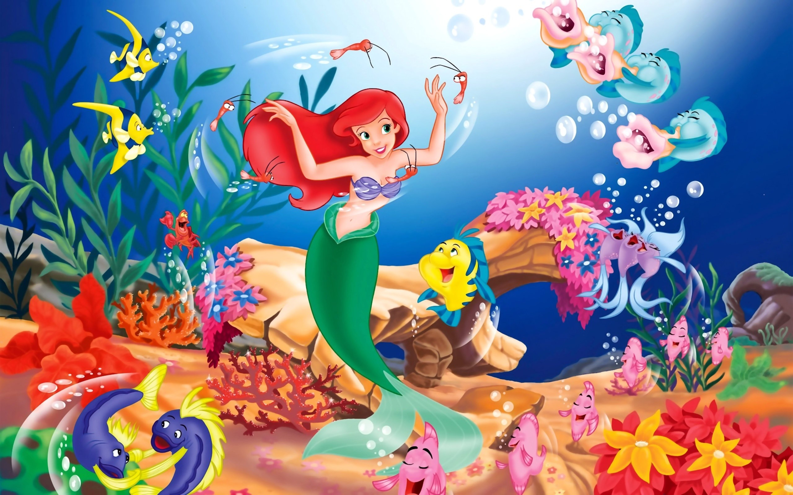 2560x1600 Disney The Little Mermaid Wallpapers | HD Wallpapers