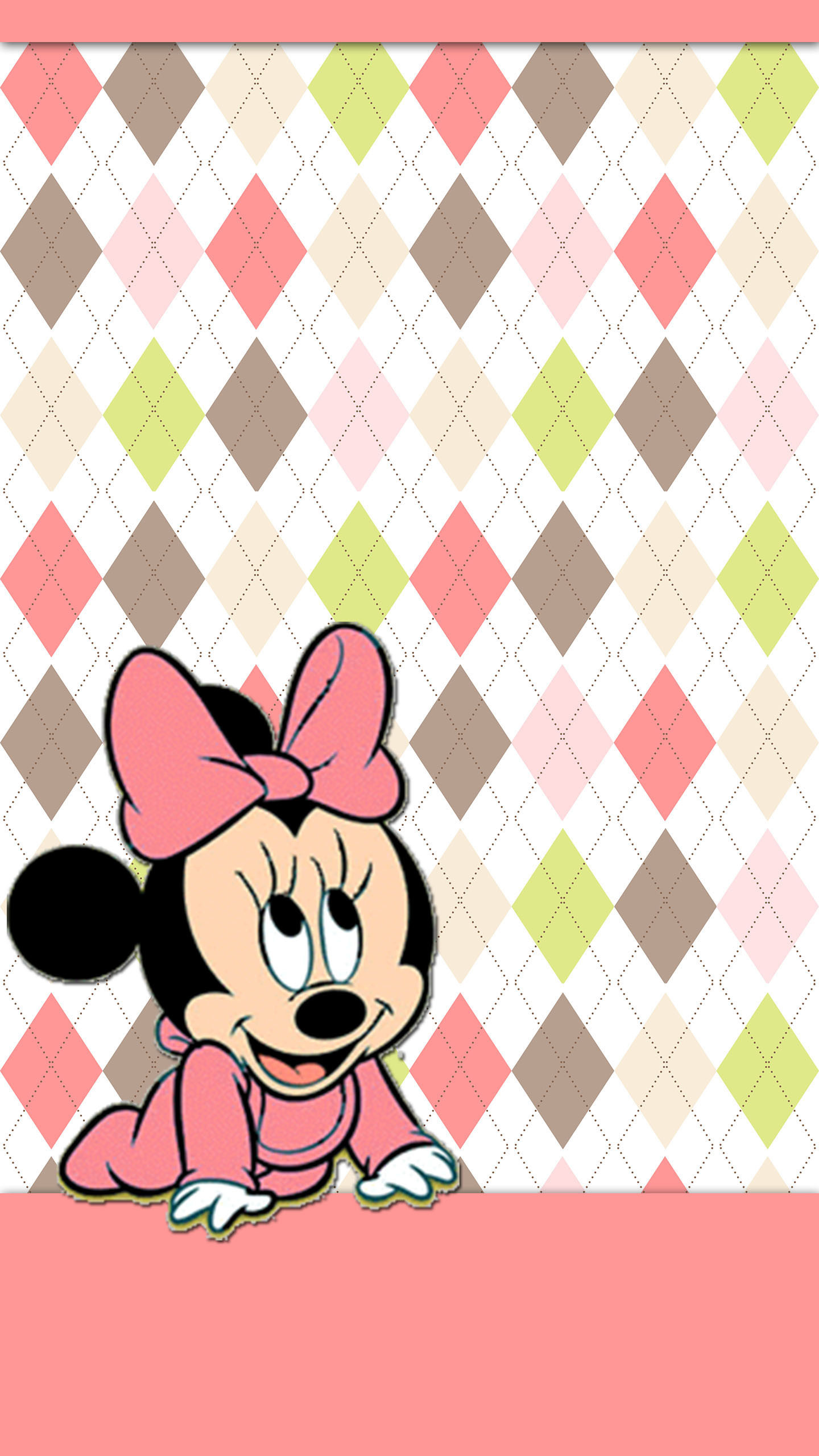 1440x2560 BABY MINNIE MOUSE IPHONE WALLPAPER BACKGROUND