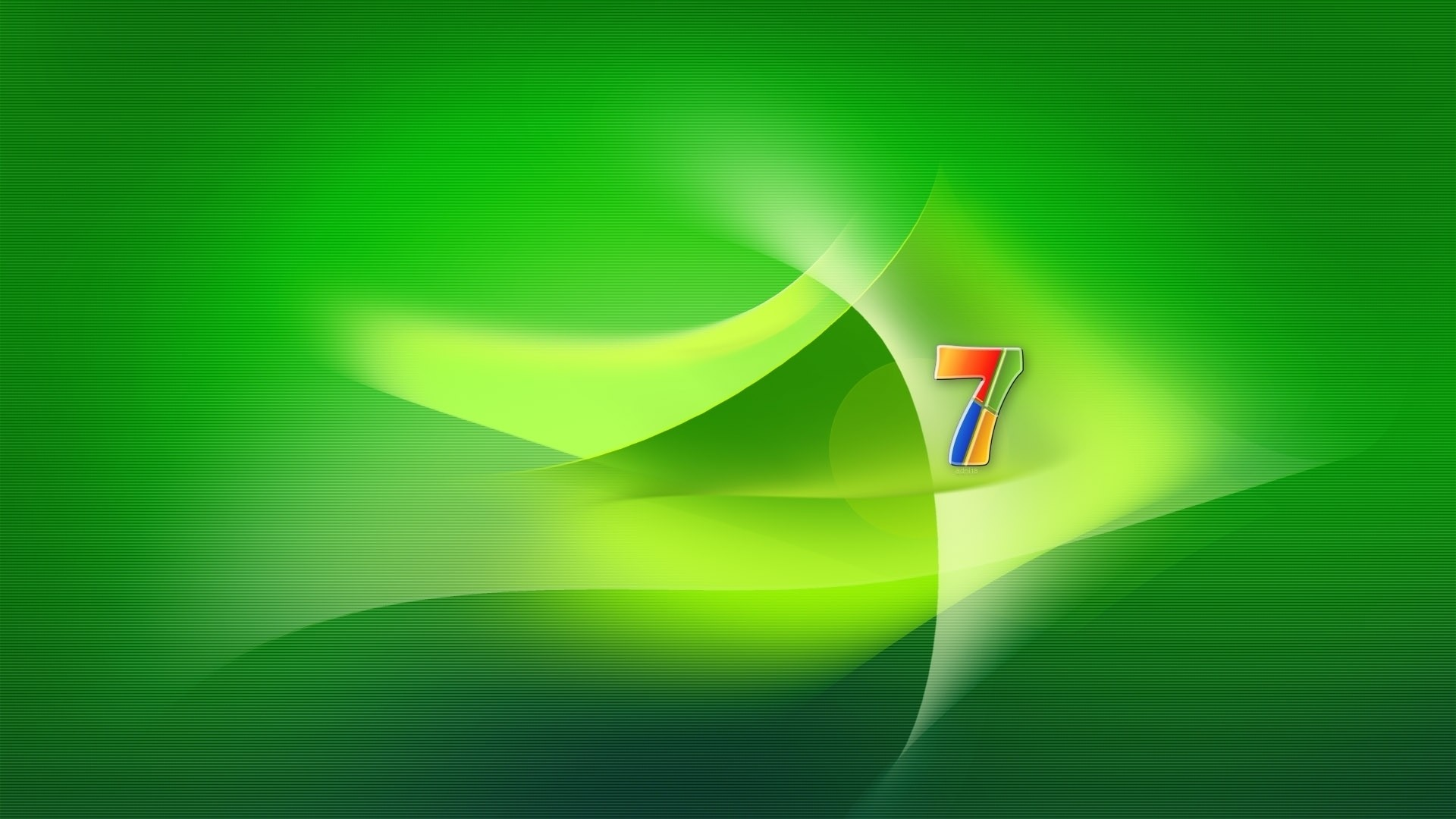 1920x1080 Preview wallpaper windows 7, os, green, yellow