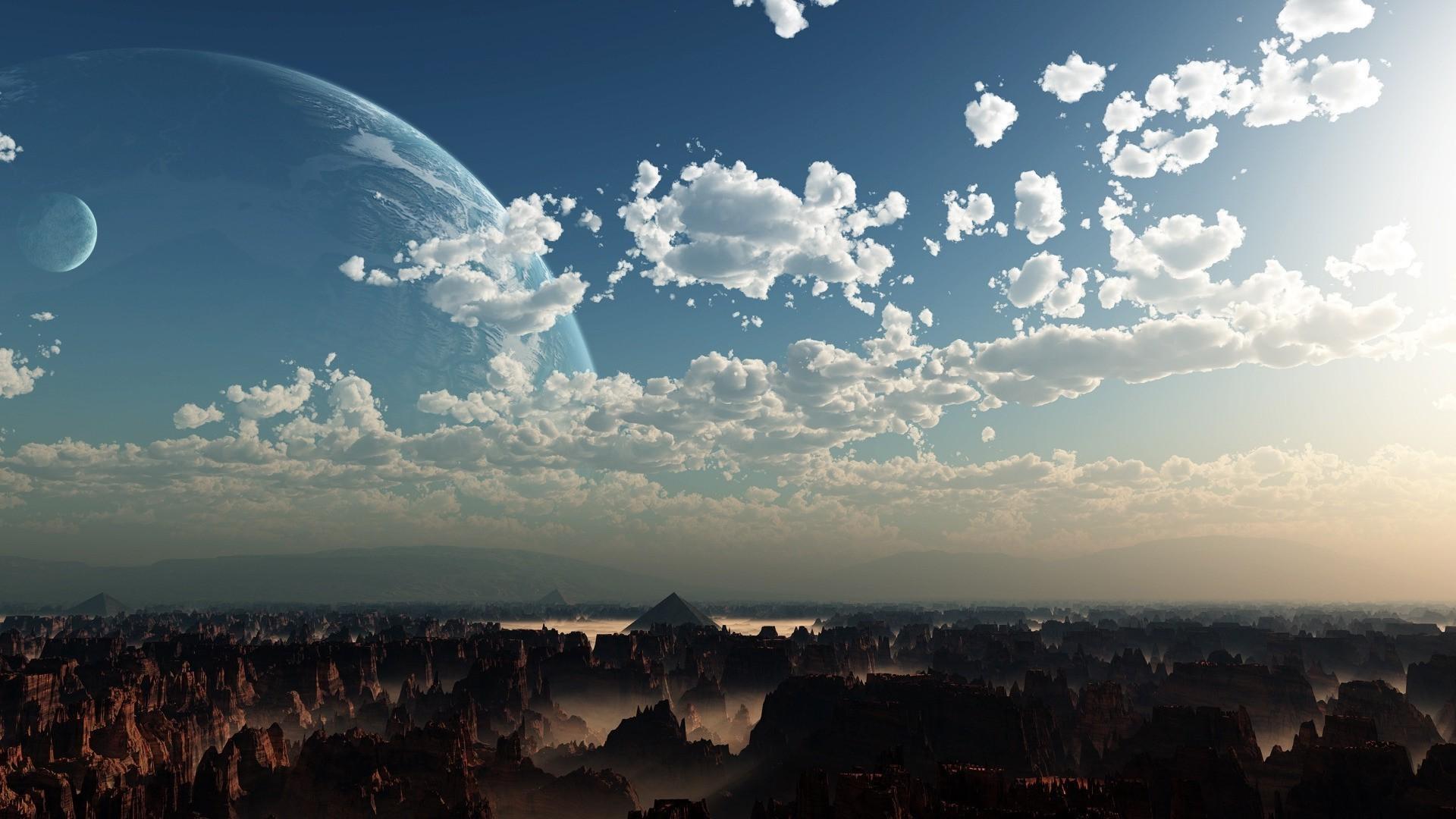 Alien Planet Landscapes Wallpaper 66 Images
