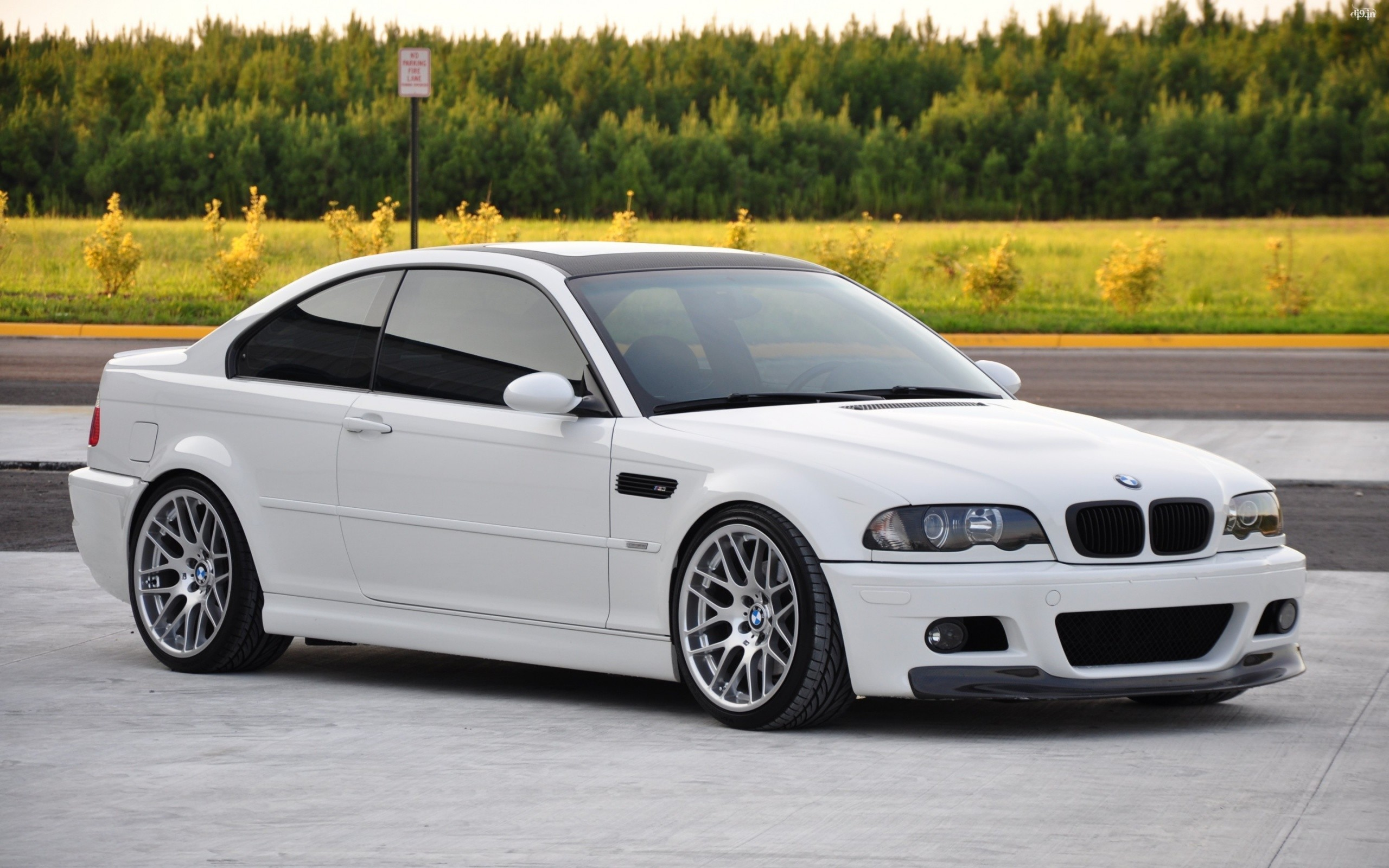 2560x1600 General  white BMW car BMW 3 Series BMW M3 E46 white cars